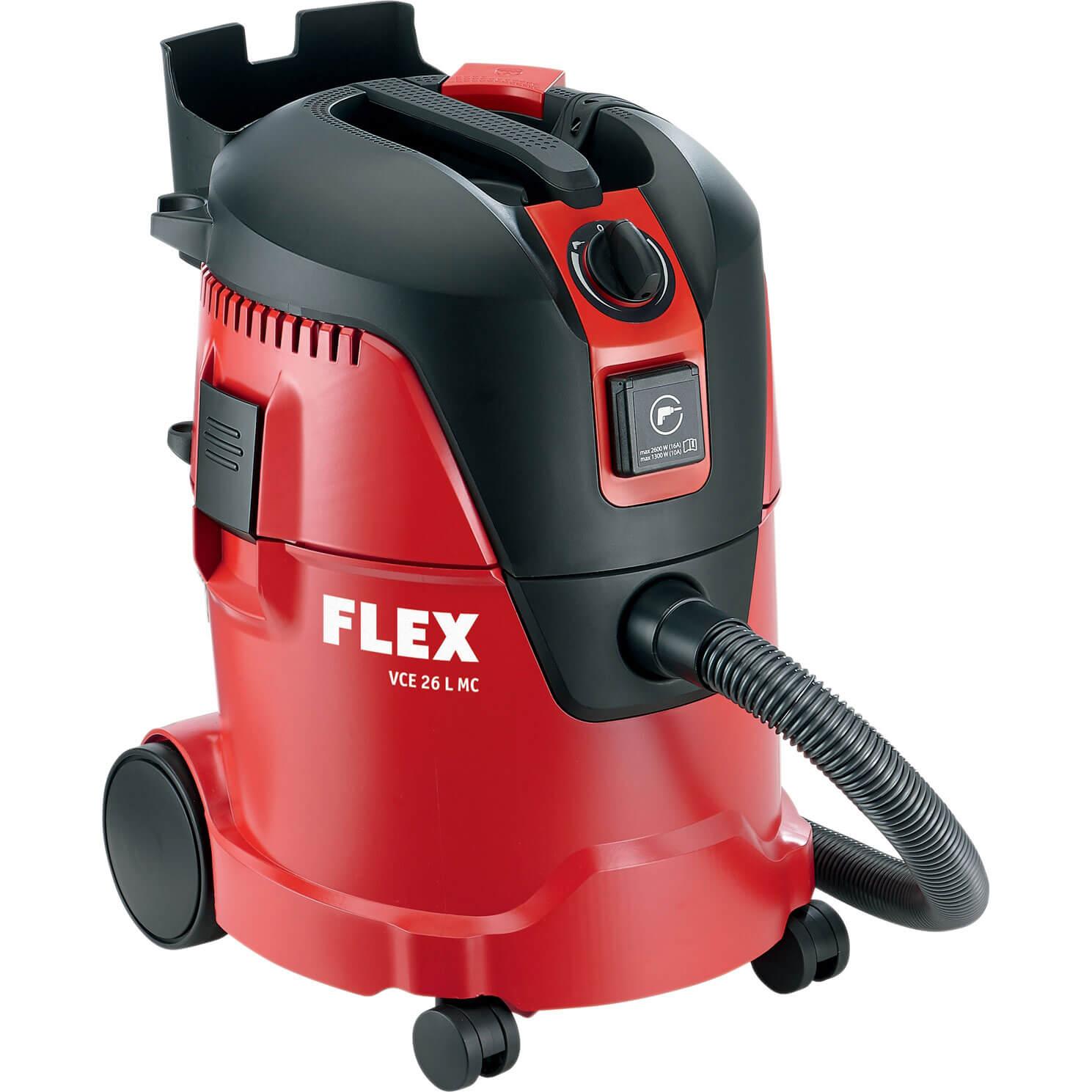 Flex VCE 26 L MC Industrial Wet & Dry Dust Extractor 110v