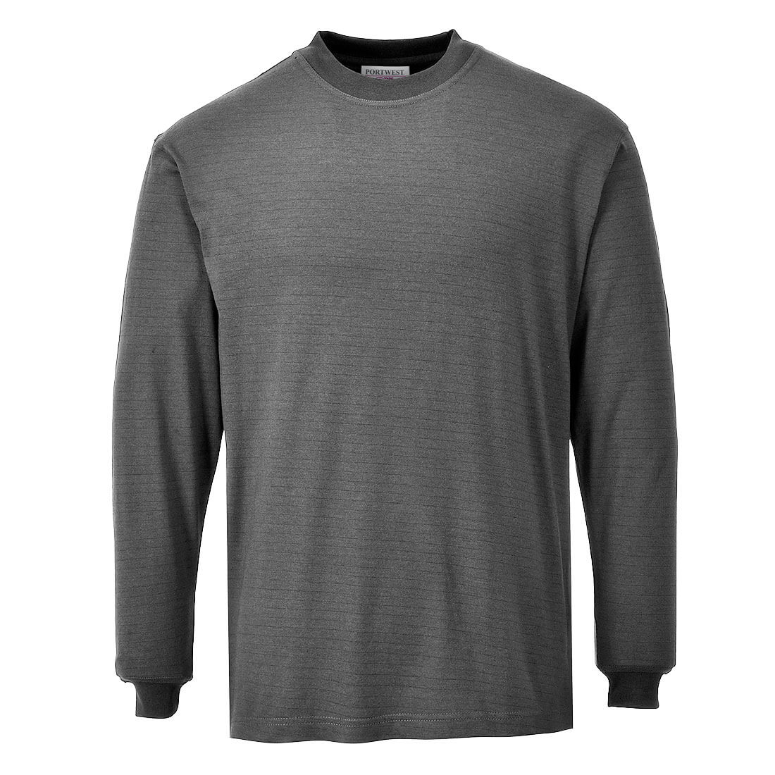 Image of Modaflame Mens Flame Resistant Antistatic T-Shirt Grey 2XL