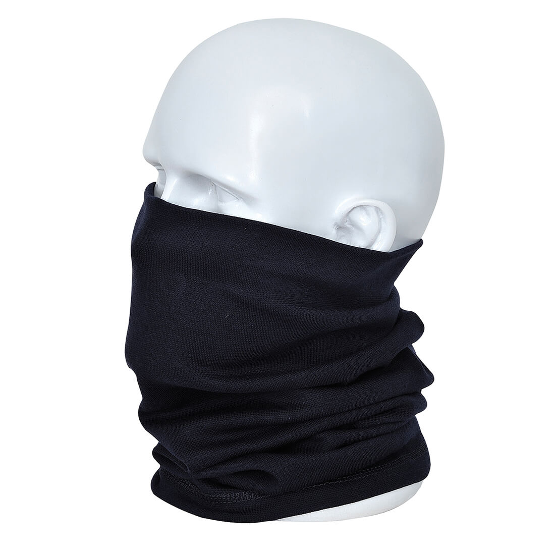 Image of Modaflame Flame Resistant Antistatic Neck Tube Navy One Size