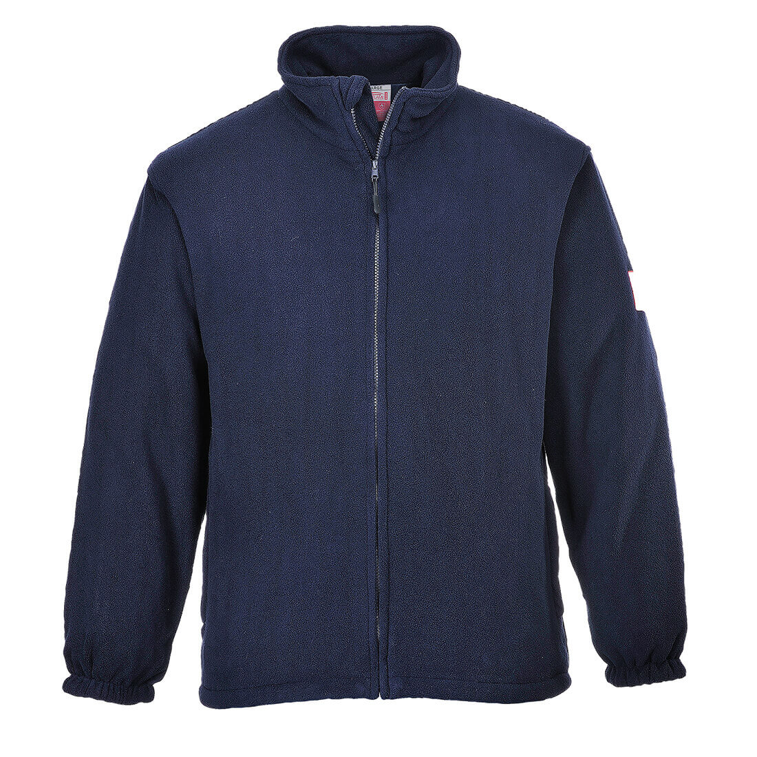 Image of Modaflame Flame Resistant Antistatic Fleece Navy 2XL