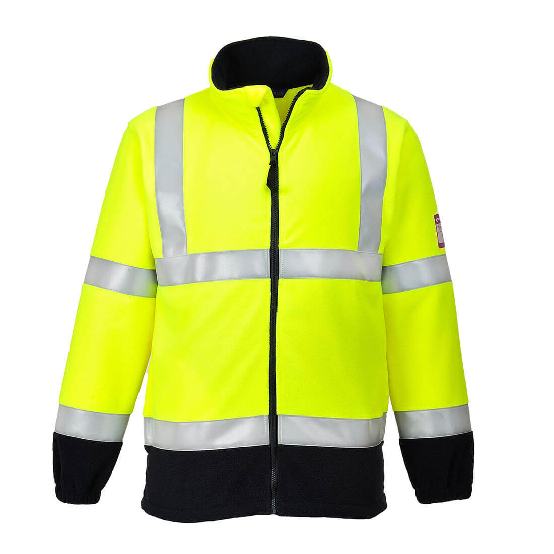 Image of Modaflame Flame Resistant Hi-Vis Fleece Yellow 2XL