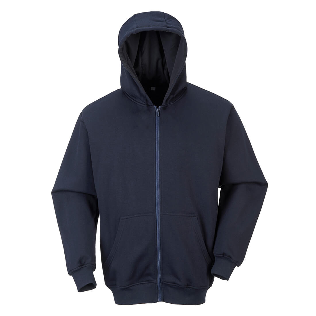 Image of Modaflame Mens Anti Static Flame Resistant Hoodie Navy 2XL