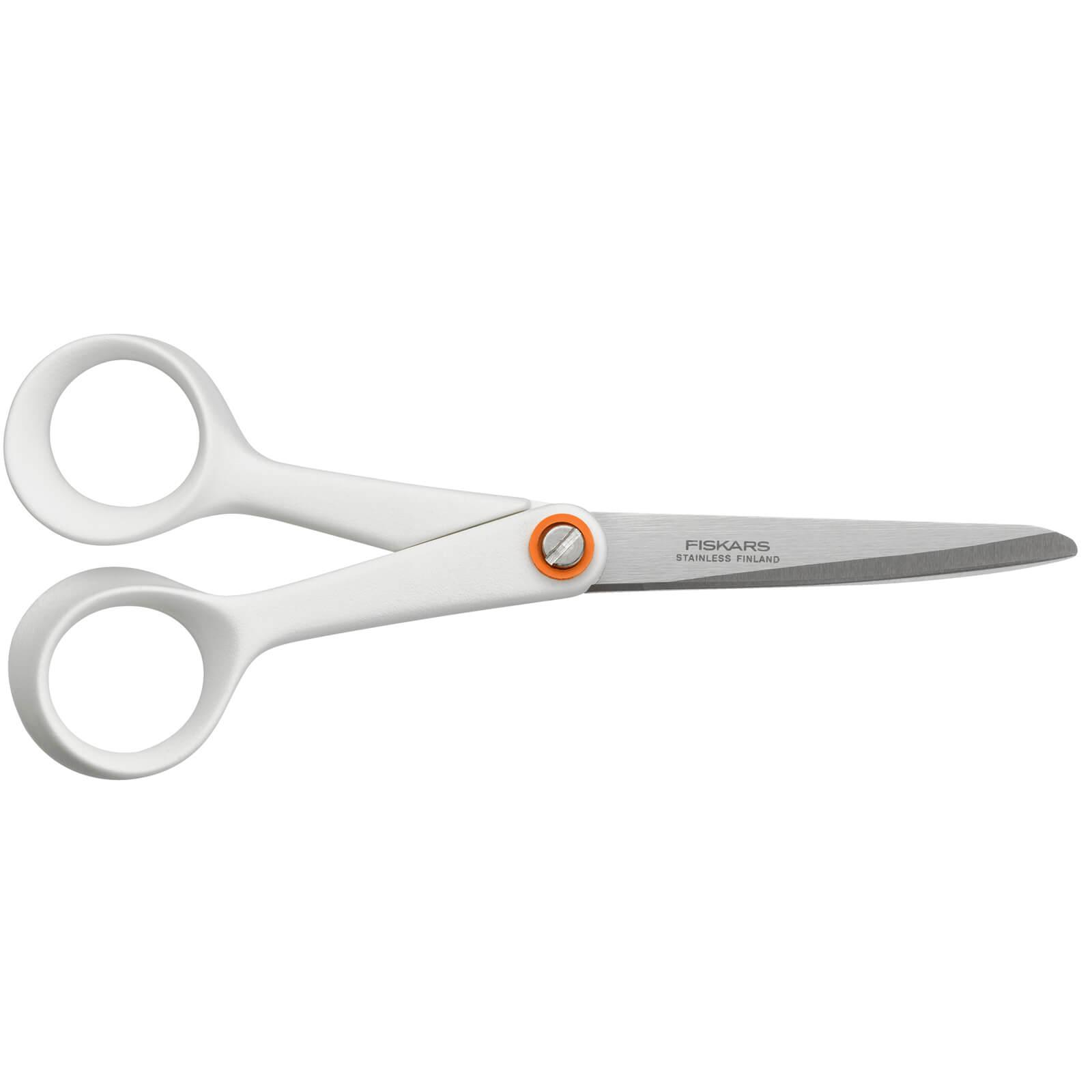 Image of Fiskars Functional Form Universal Scissors White