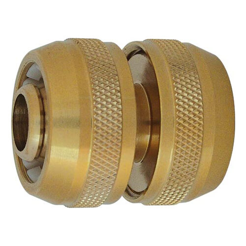 "Image of CK Brass Garden Hose Pipe Repair Connector 3/4"" / 19mm Pack of 1"