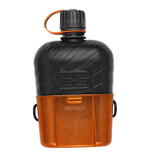 Image of Gerber Bear Grylls Canteen Water Bottle & Cooking Cup
