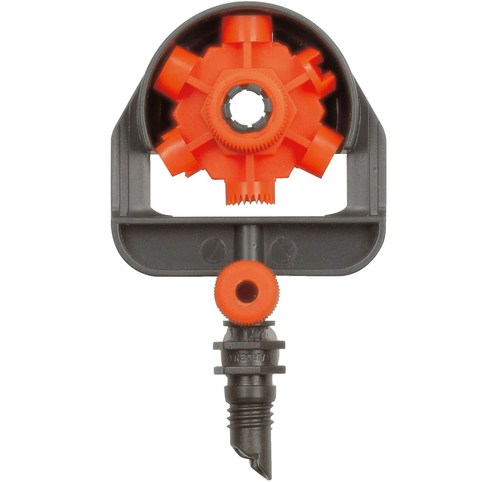 """Image of Gardena MICRO DRIP 6 Pattern Spray Nozzle 3/16"""" / 4.6mm Pack of 2"""