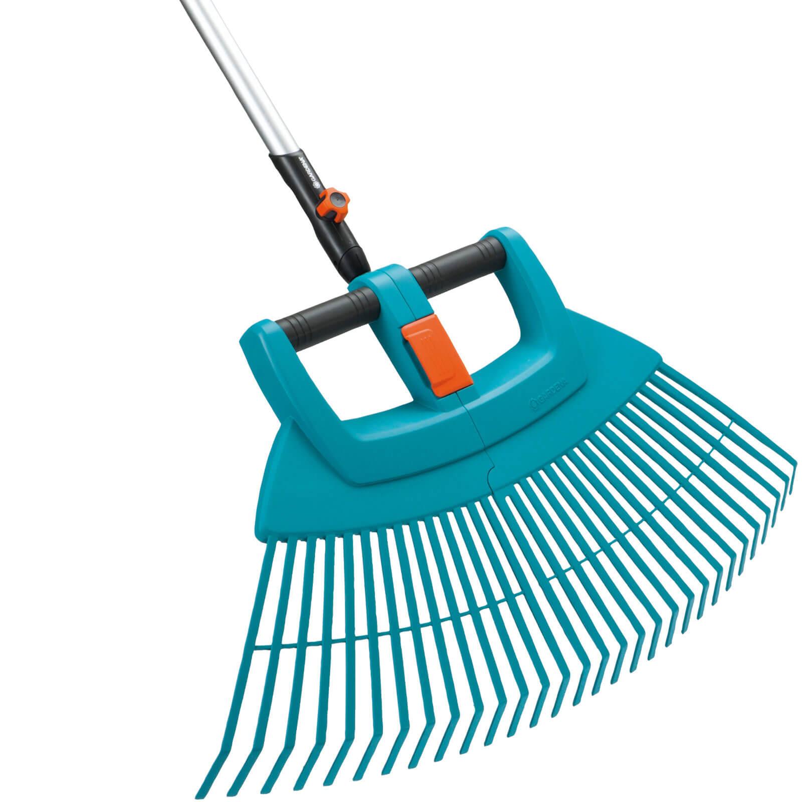 garden hand tools gardena combisystem plastic fan rake. Black Bedroom Furniture Sets. Home Design Ideas
