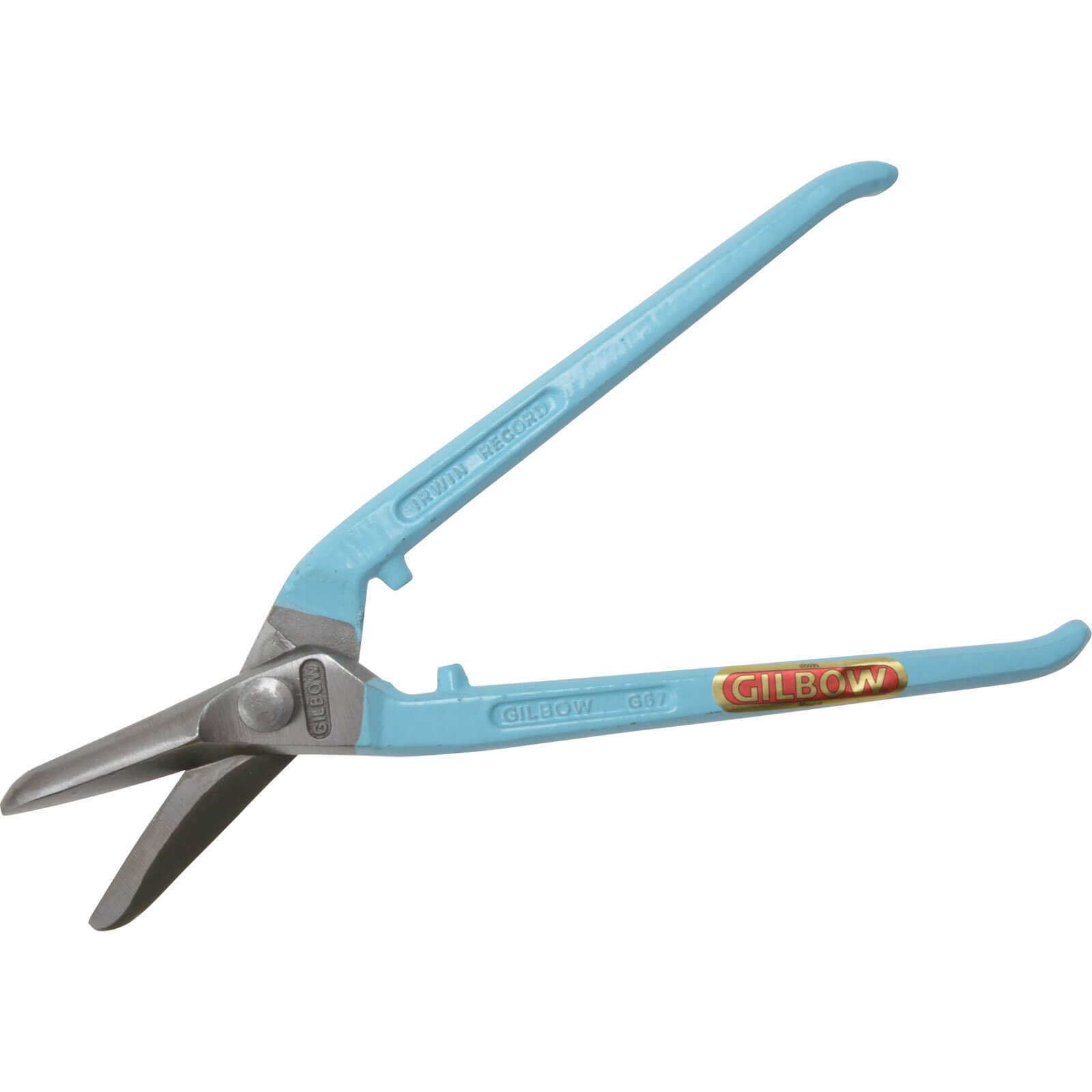 Image of Gilbow Left Hand Cranked Universal Tin Snip 280mm