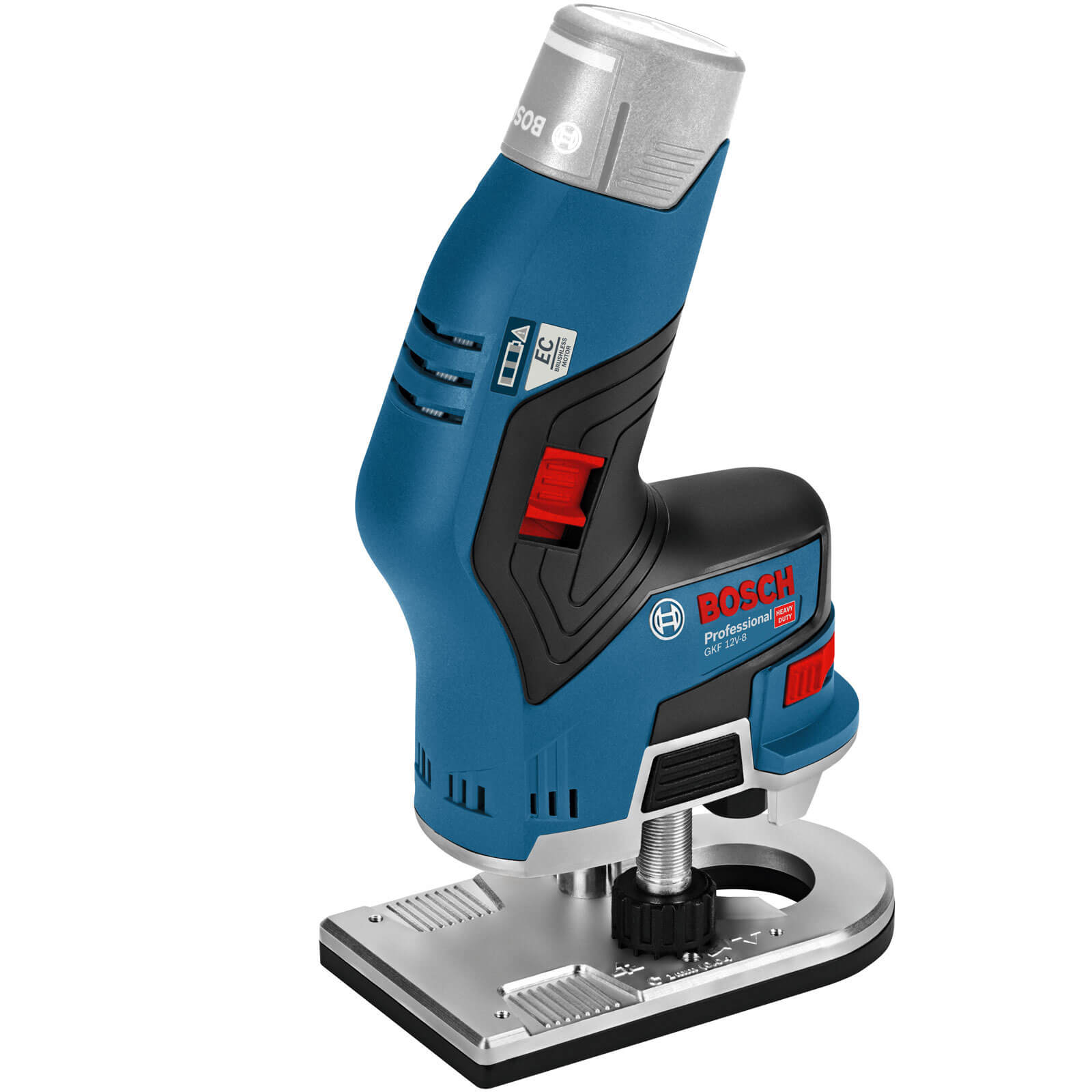 Power Tools Bosch GKF 12 V-8 12v Cordless Fixed Base Palm Router No Batteries No Charger No Case