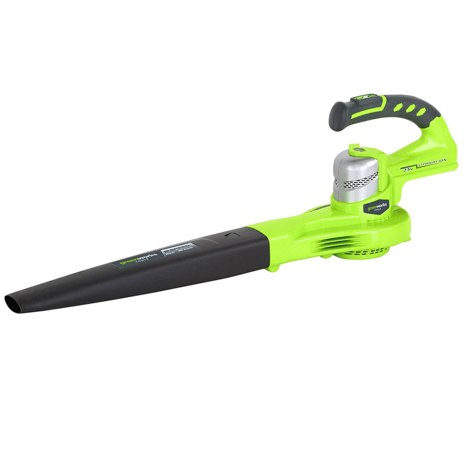 Image of Greenworks G24BL 24v Cordless Garden Leaf Blower No Batteries