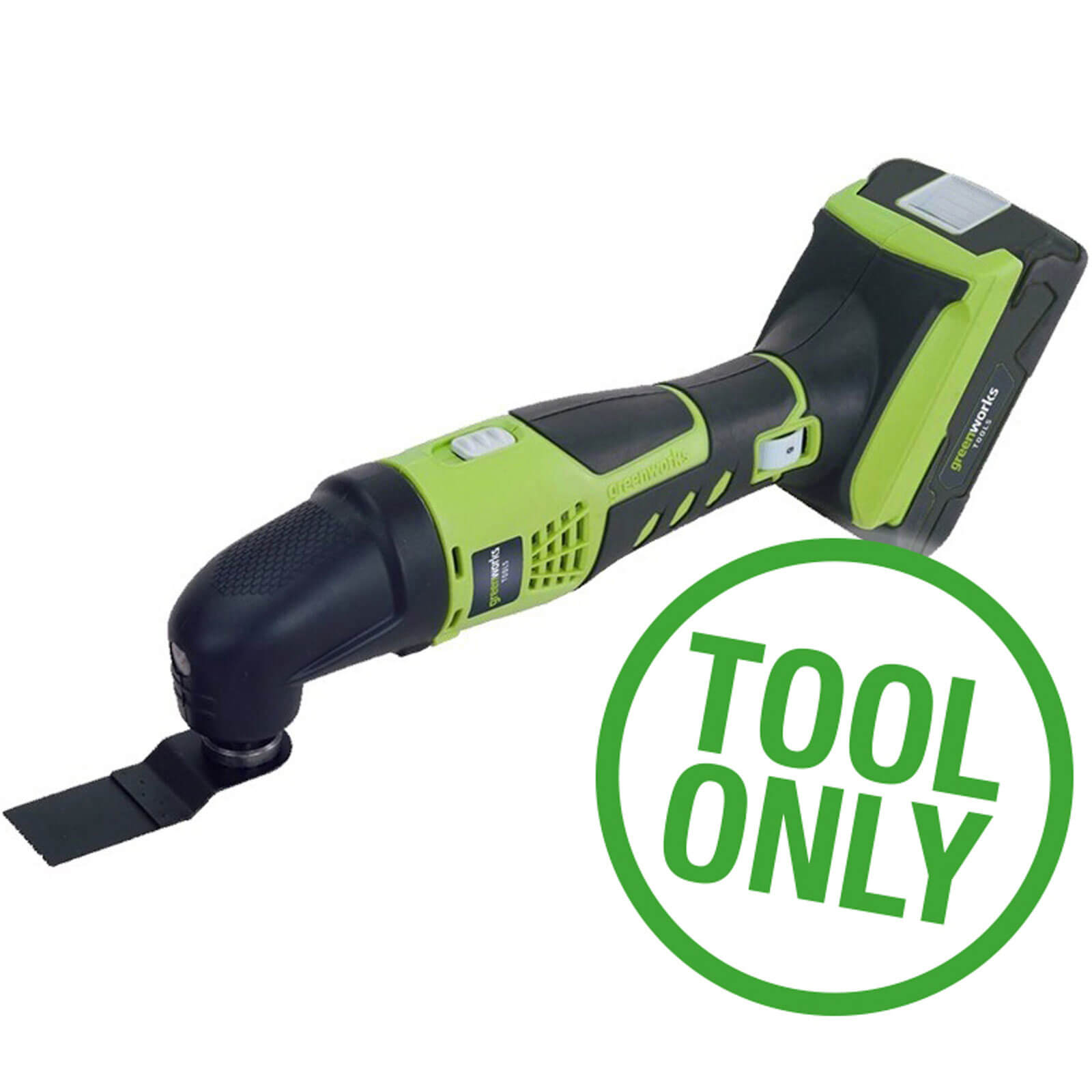 Greenworks G24MT 24v Cordless Multi Tool No Batteries No Charger No Case