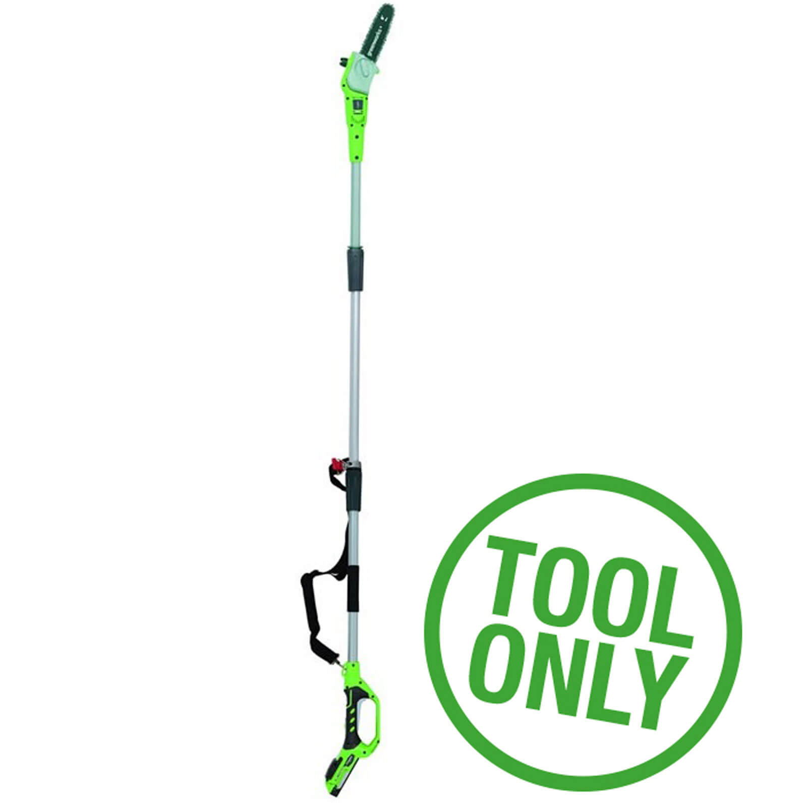 Greenworks G24PS 24v Cordless Telescopic Pole Tree Pruner No Batteries No Charger