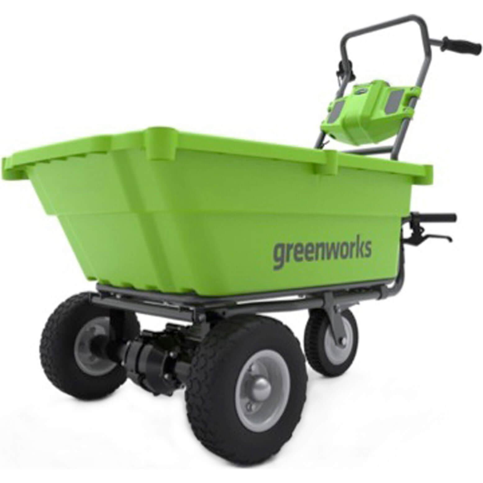 Image of Greenworks G40GC 40v Cordless Garden Cart No Batteries No Charger