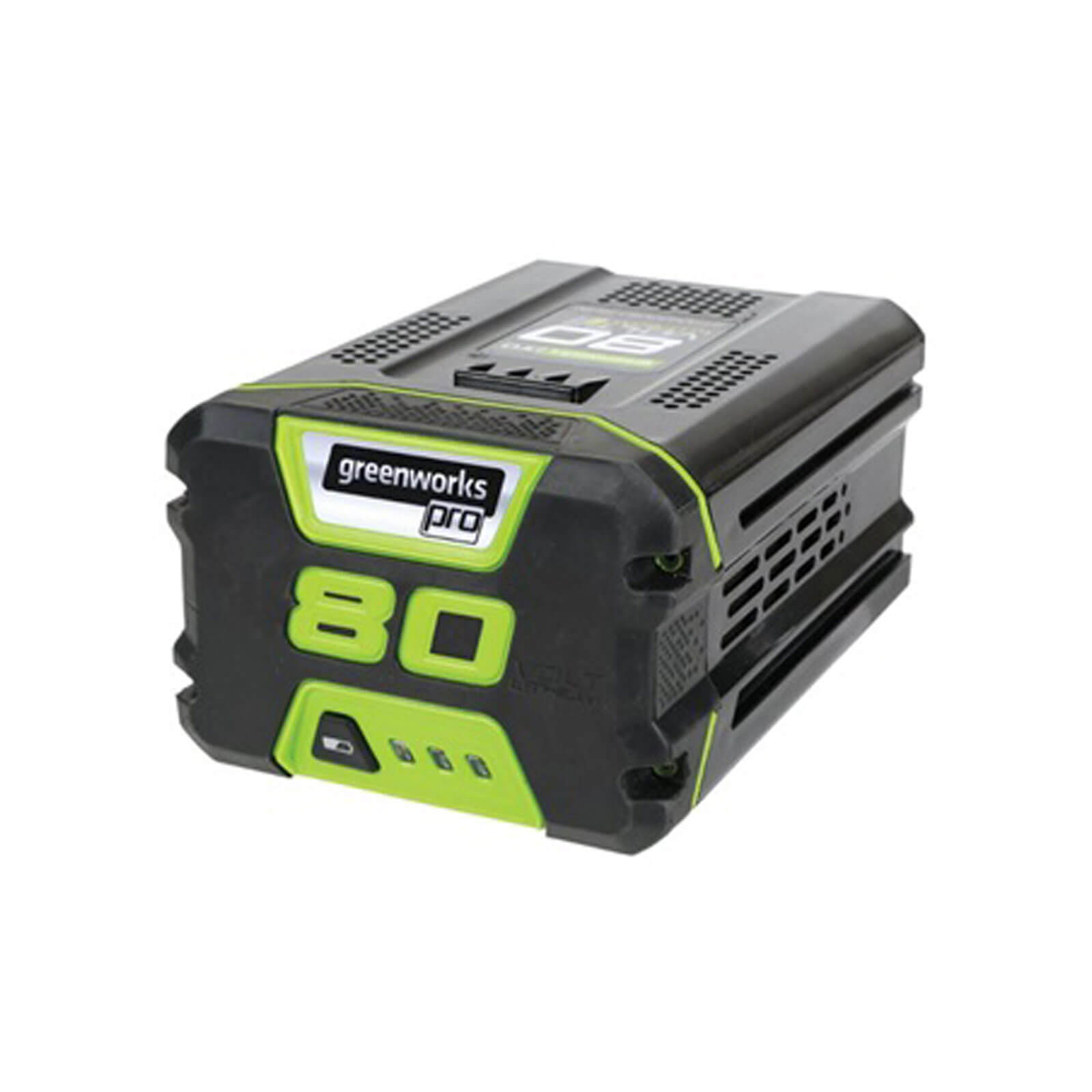 Greenworks G80B2 80v Cordless Battery 2ah 2ah
