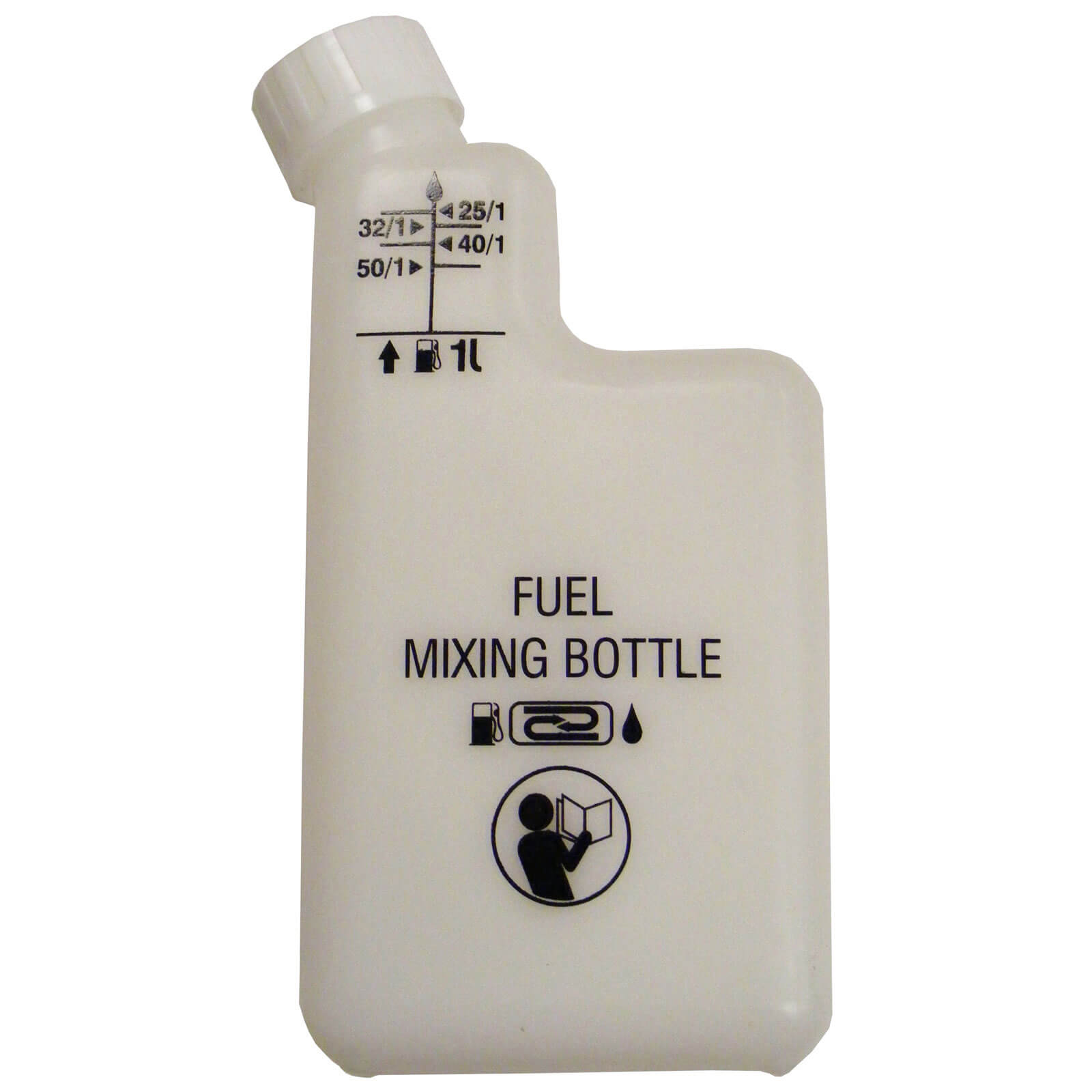 Image of Handy 2 Stroke Oil / Petrol Fuel Mixing Bottle