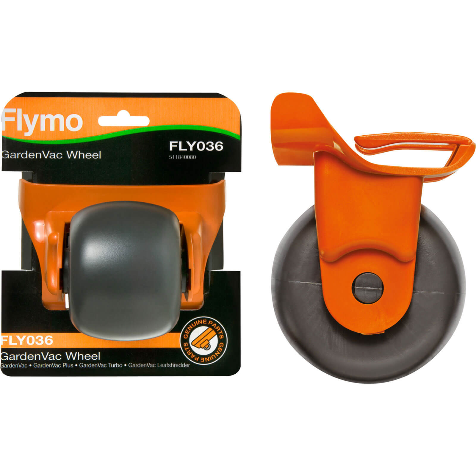 Flymo FLY036 Genuine Wheel for Gardenvac Pack of 1