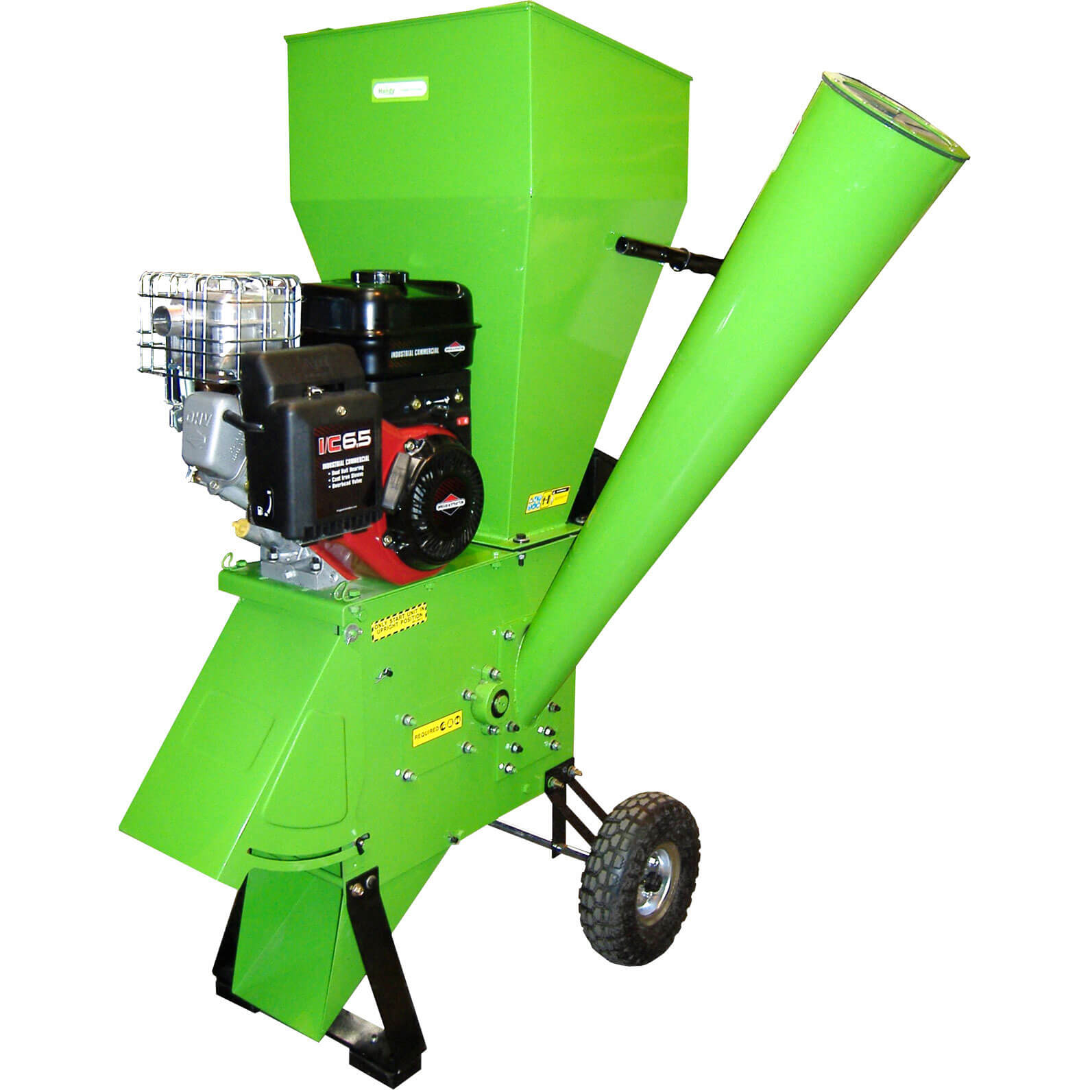 Handy THCS65 Petrol Garden Chipper Shredder 50mm