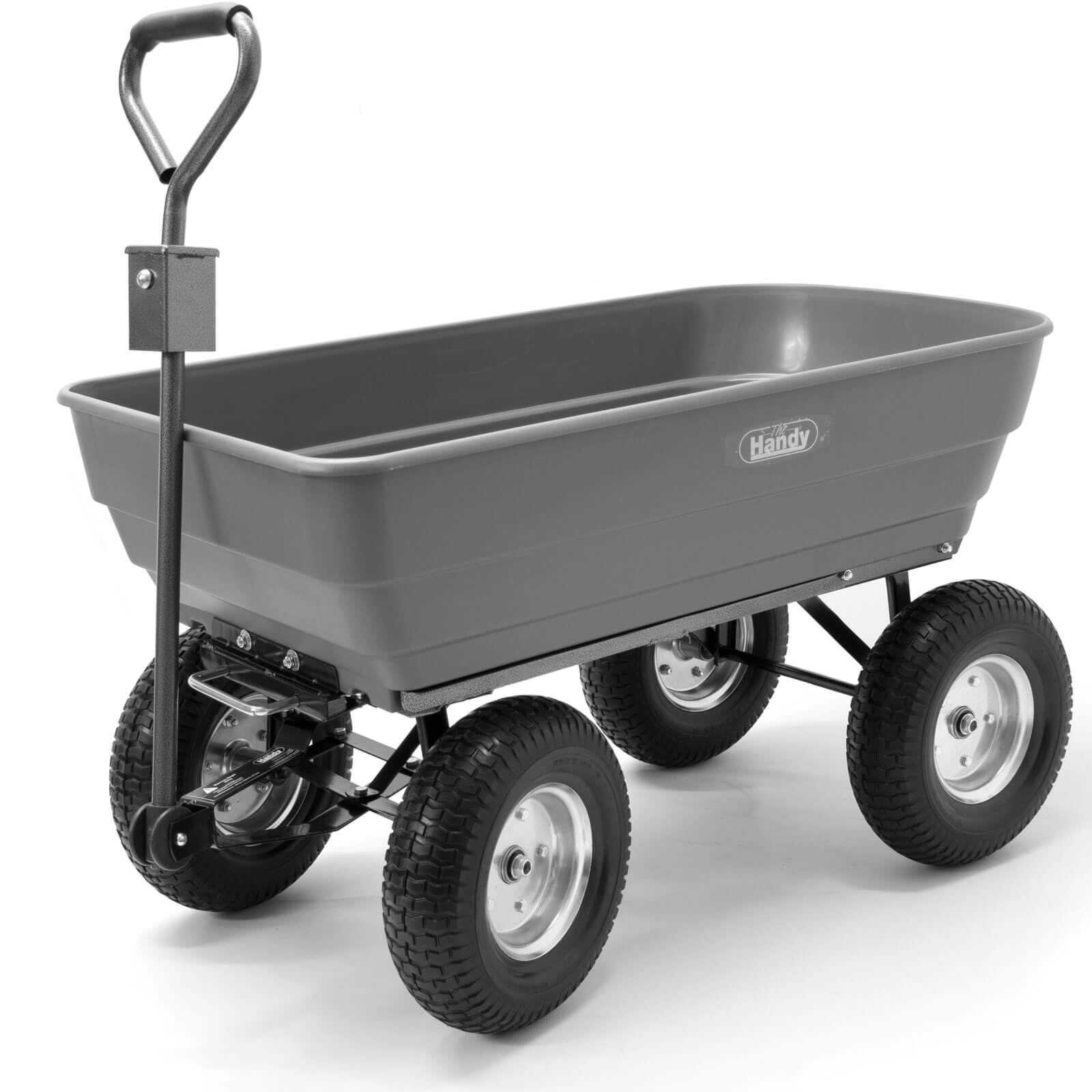 Image of Handy THPDC Large Poly Garden Trolley 200kg
