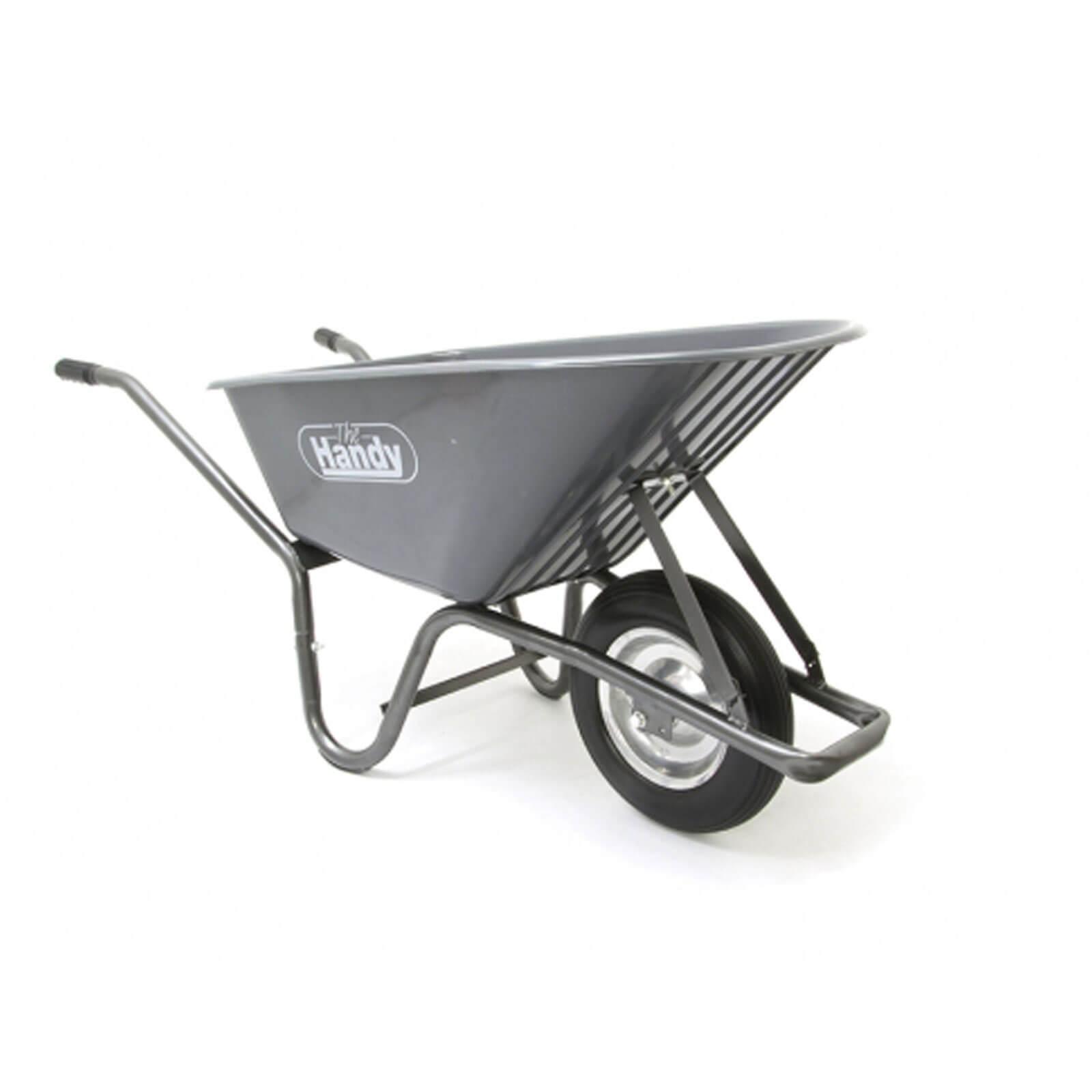 Handy Thwb90 Wheel Barrow With Punctureless Wheels 90l