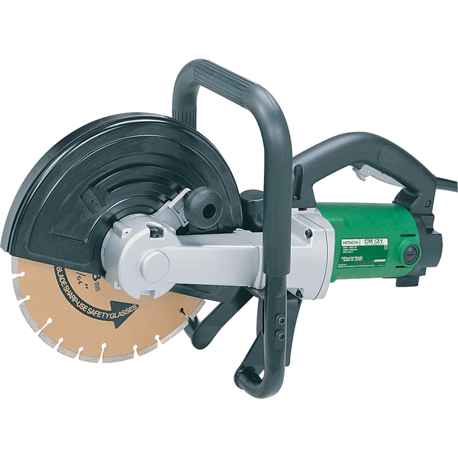 Image of Hitachi Cm12Y Disc Cutter 300mm 110v