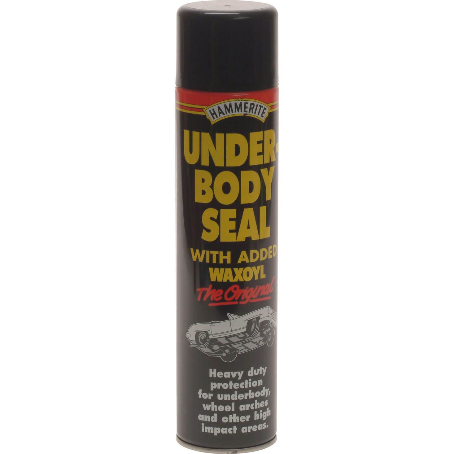 Image of Hammerite Aerosol Underbody Seal 600ml