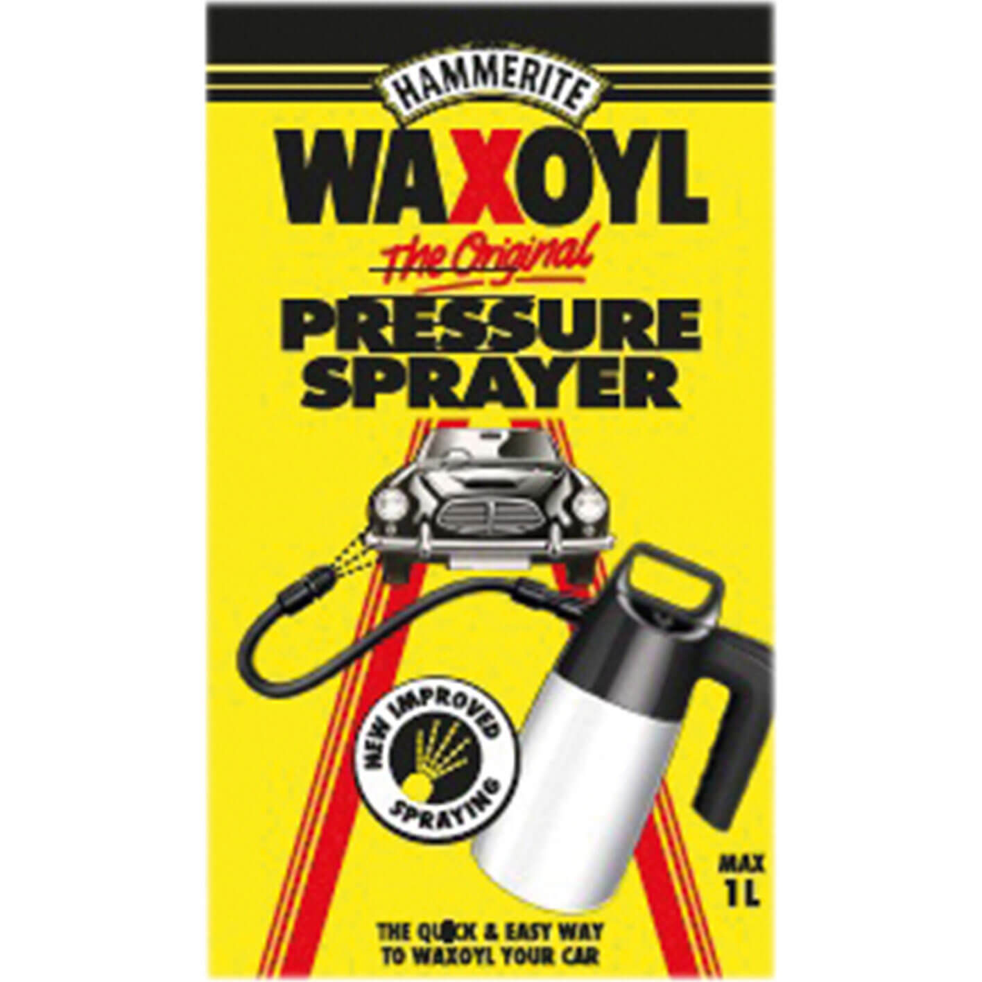 Image of Hammerite Waxoyl Pressure Sprayer