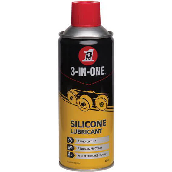3 In 1 Silicone Lubricant Spray 400ml