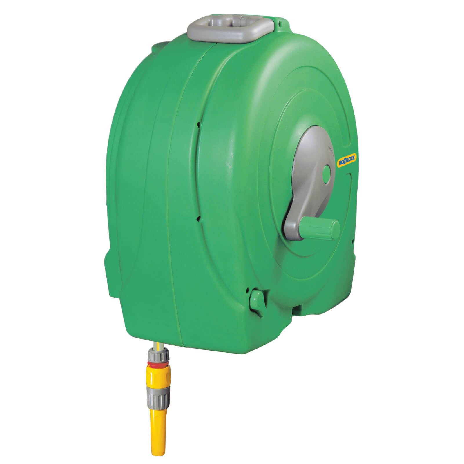 Hozelock 40m Wall Mounted Fast Hose Reel with 40m Hose Pipe 12.5mm (1