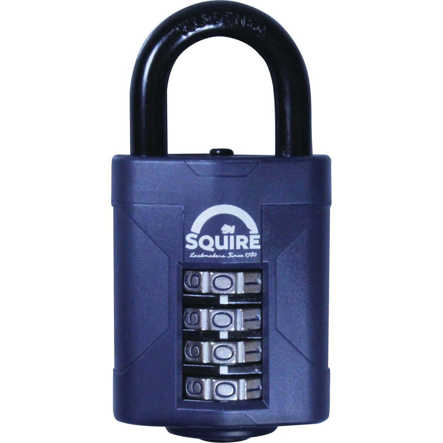Image of Henry Squire Push Button Combination Padlock 50mm Standard