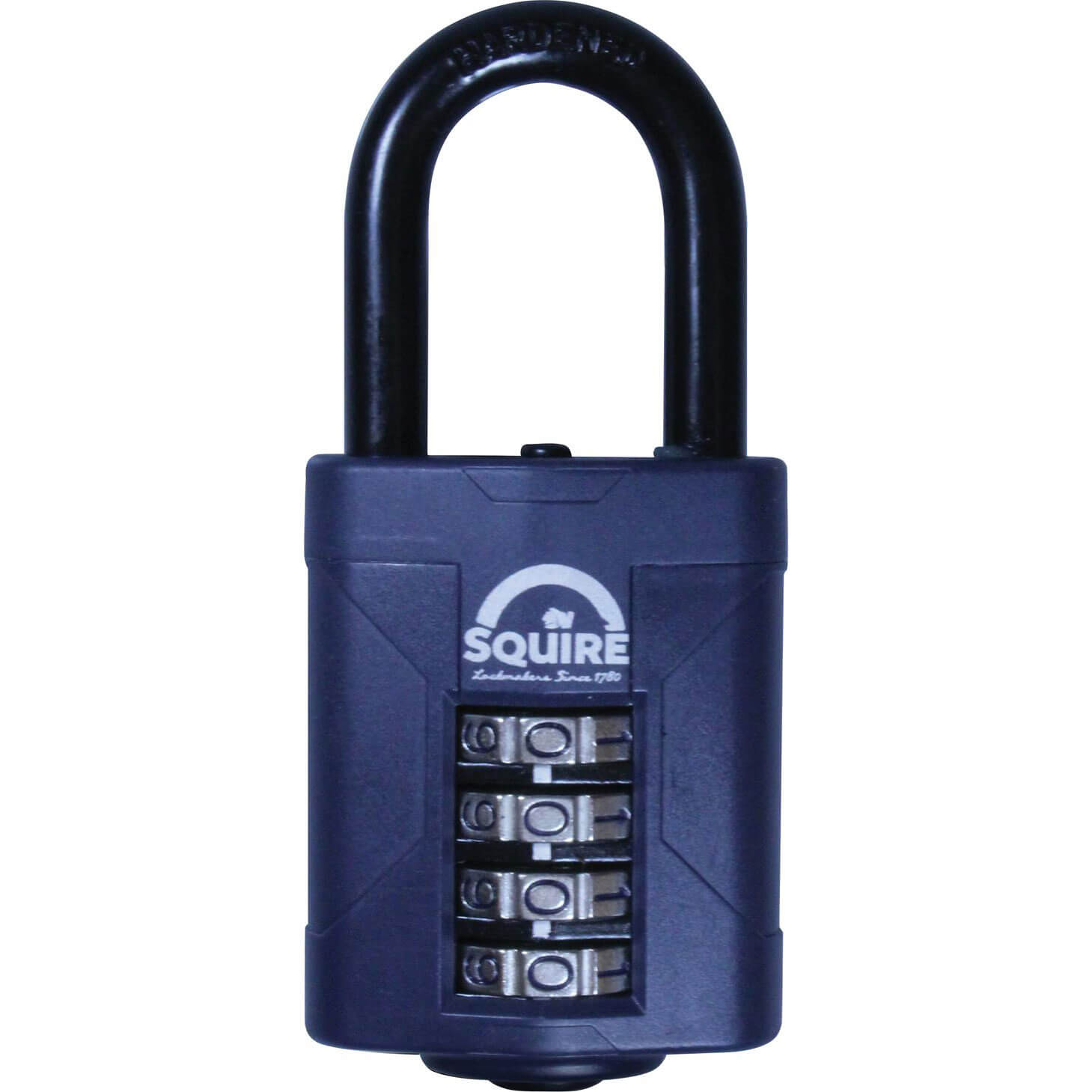 Image of Henry Squire Push Button Combination Padlock 50mm Long