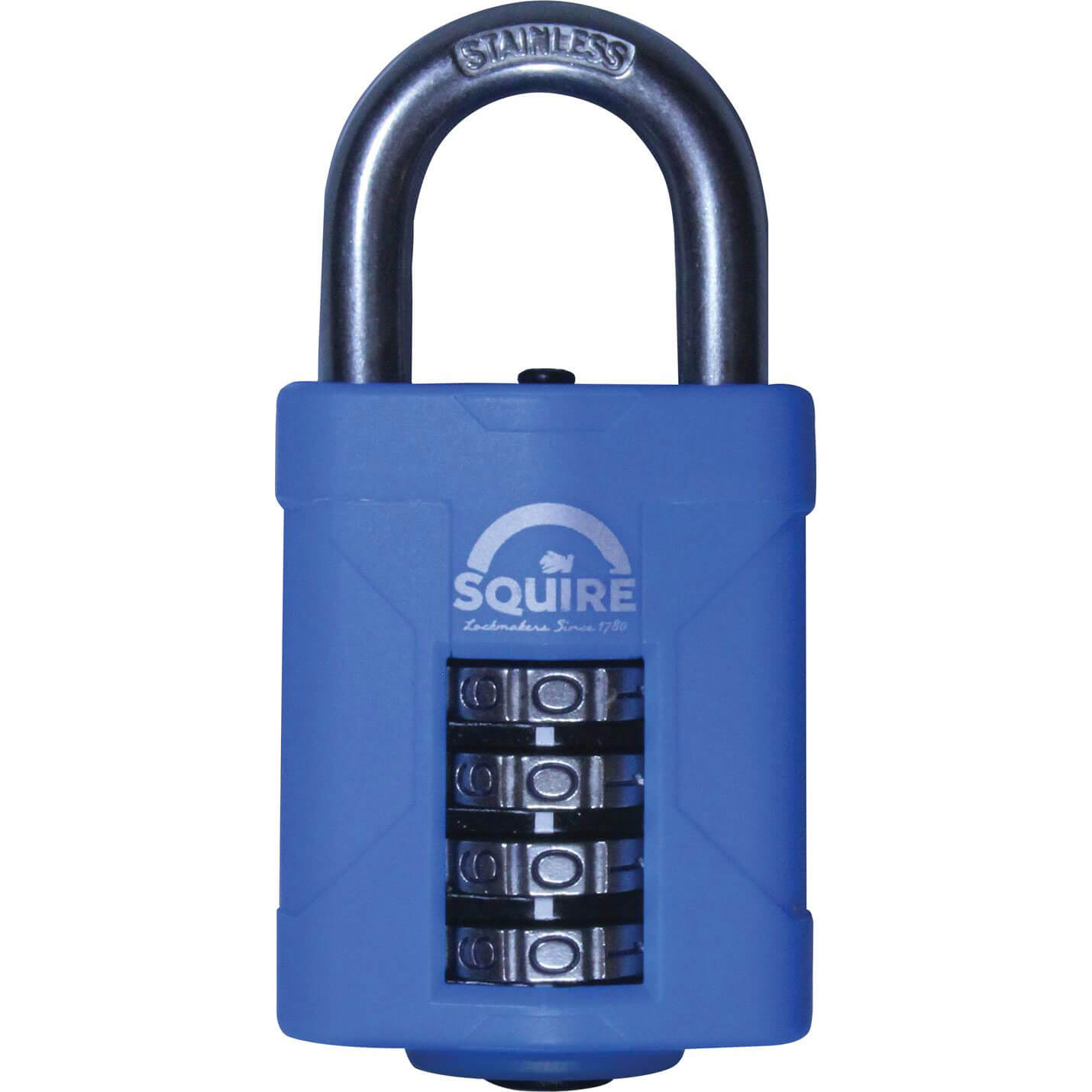 Image of Henry Squire Heavy Duty Rust Proof Marine Combination Padlock 50mm Standard