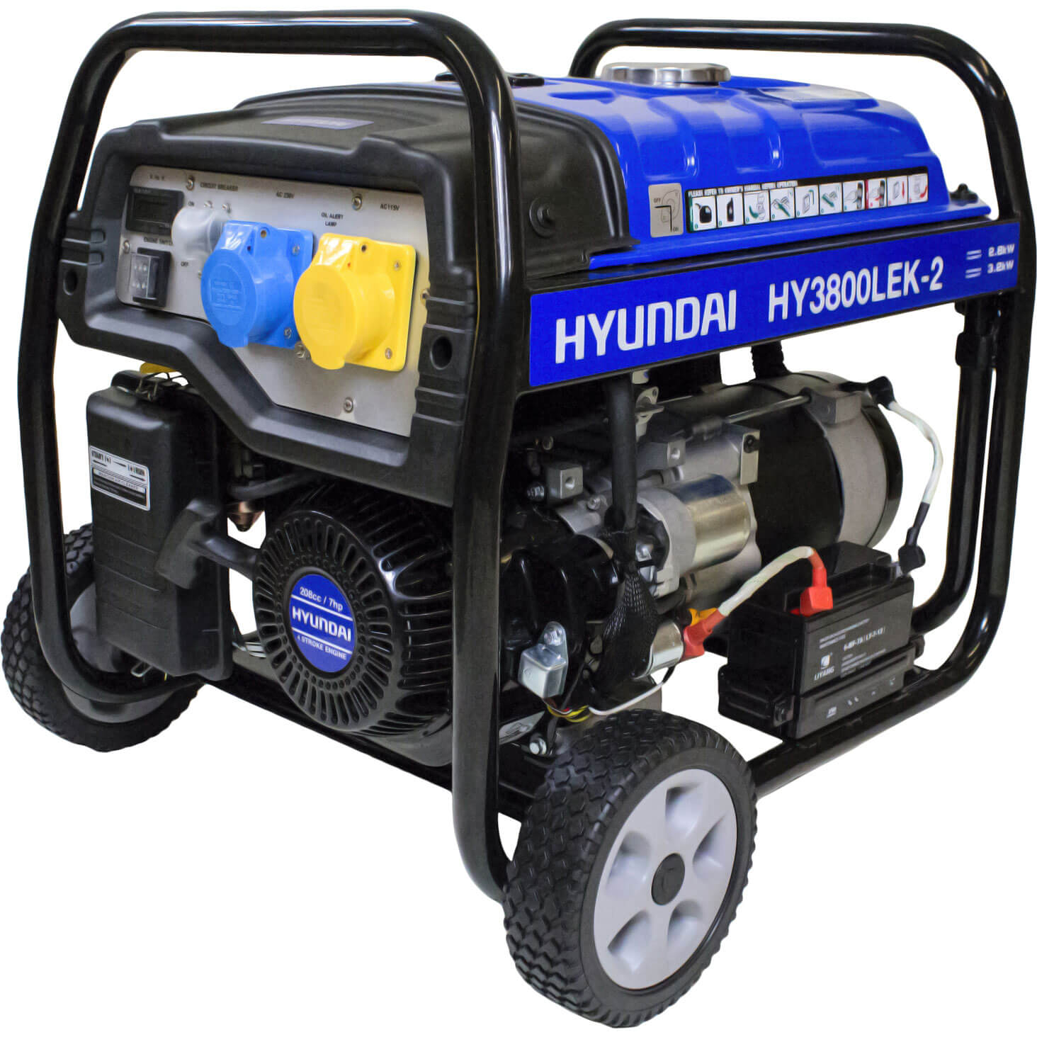 Image of Hyundai 3.2 Kw / 4.0 Kva Generator Key Start