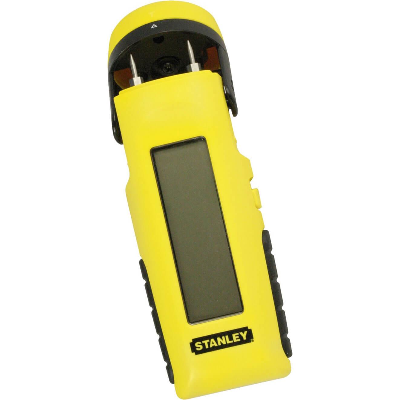 Stanley Intellilevel LCD Moisture and Damp Meter