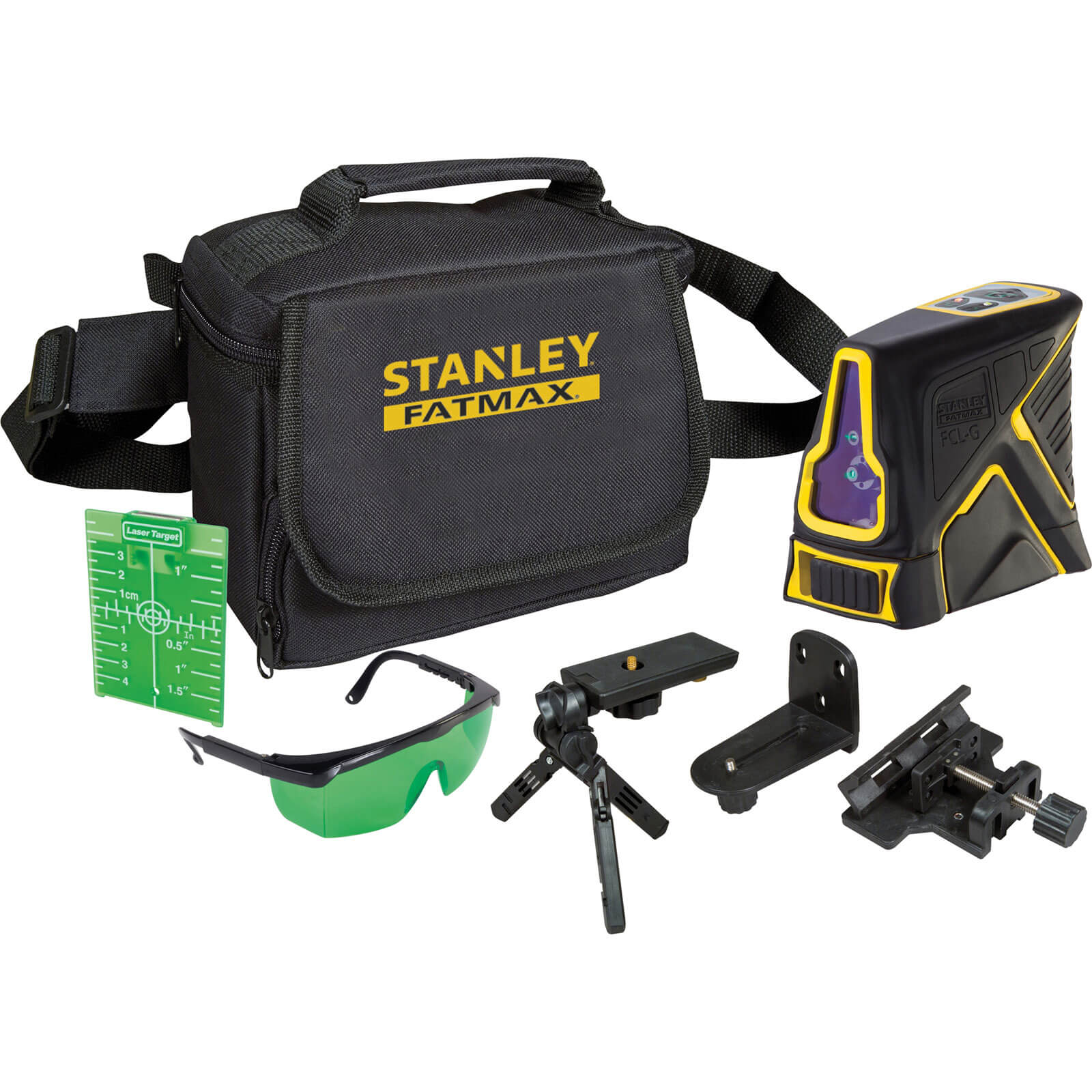 stanley fatmax green beam self levelling laser level. Black Bedroom Furniture Sets. Home Design Ideas