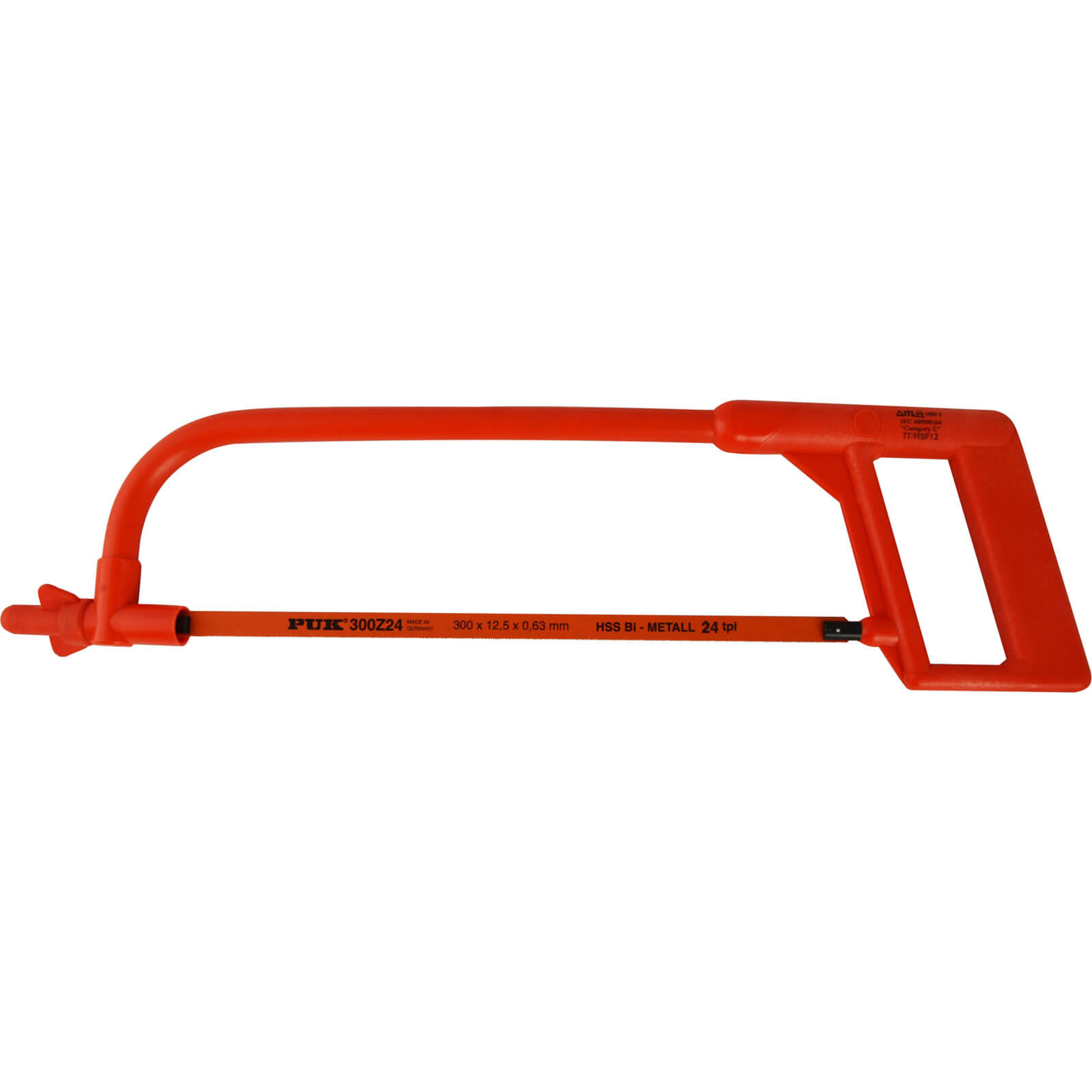 """Image of ITL Insulated Hacksaw 12"""" / 300mm Standard"""