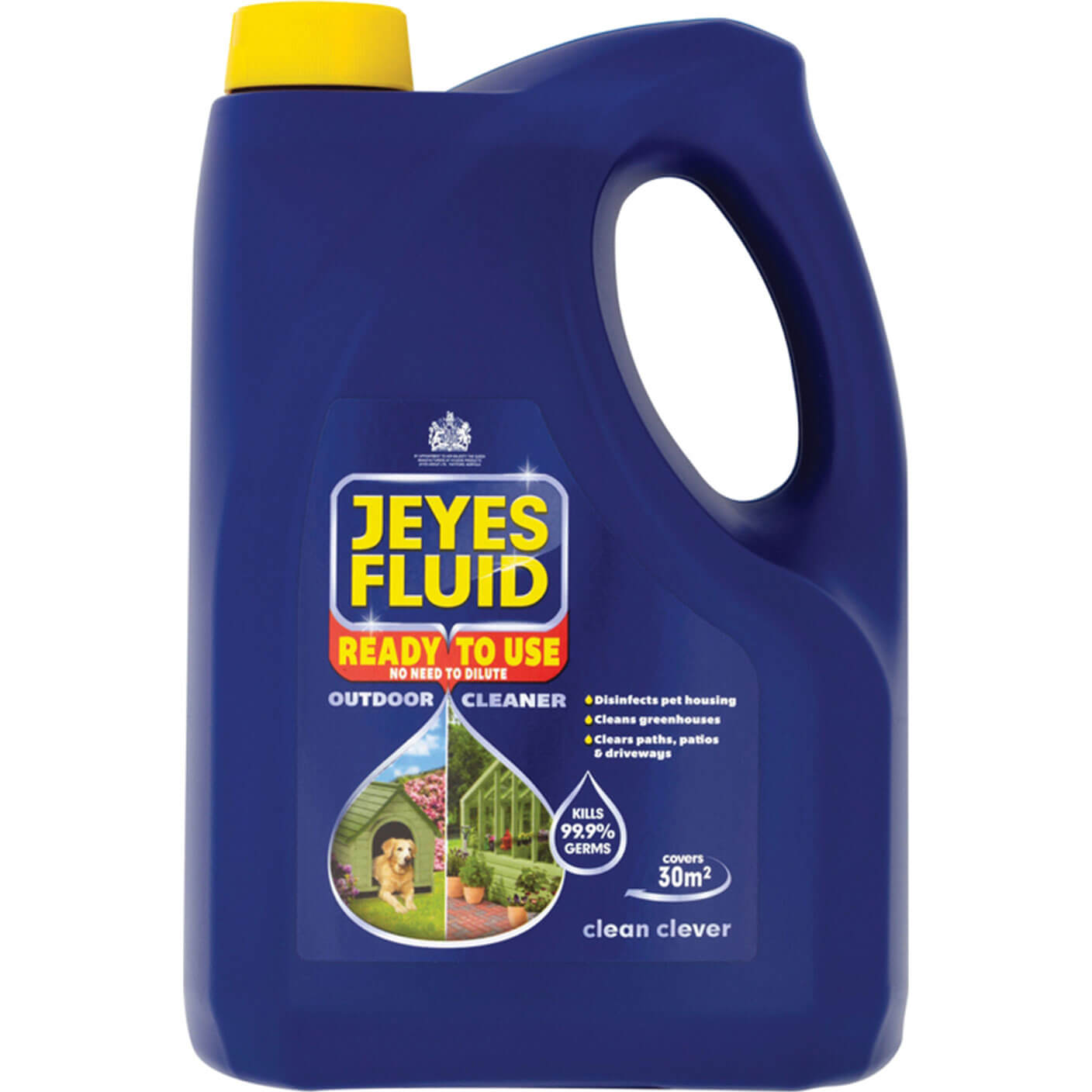 Image of Jeyes Multi Purpose Outdoor Cleaner Disinfectant Fluid 4l