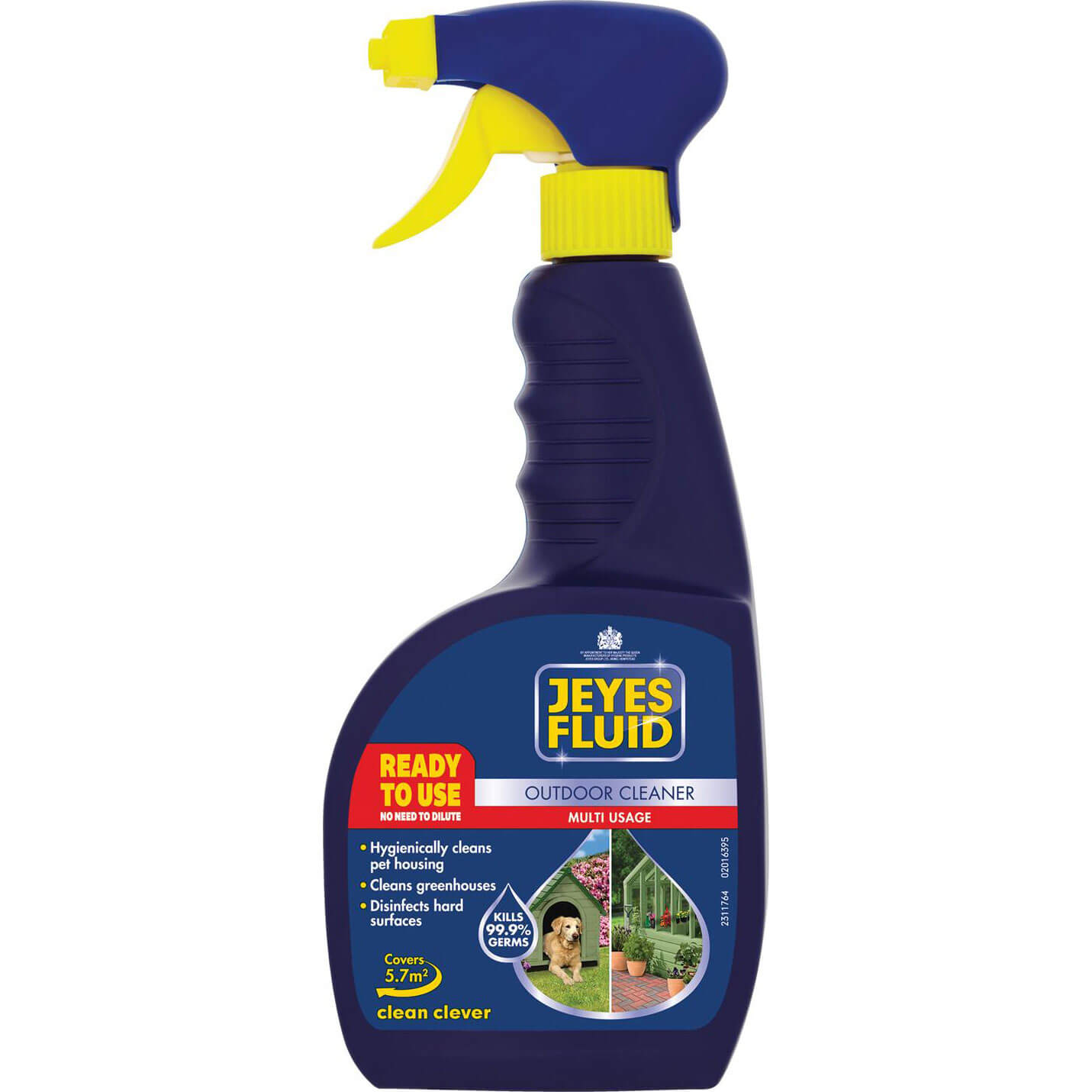 Image of Jeyes Multi Purpose Outdoor Cleaner Disinfectant Fluid 750ml
