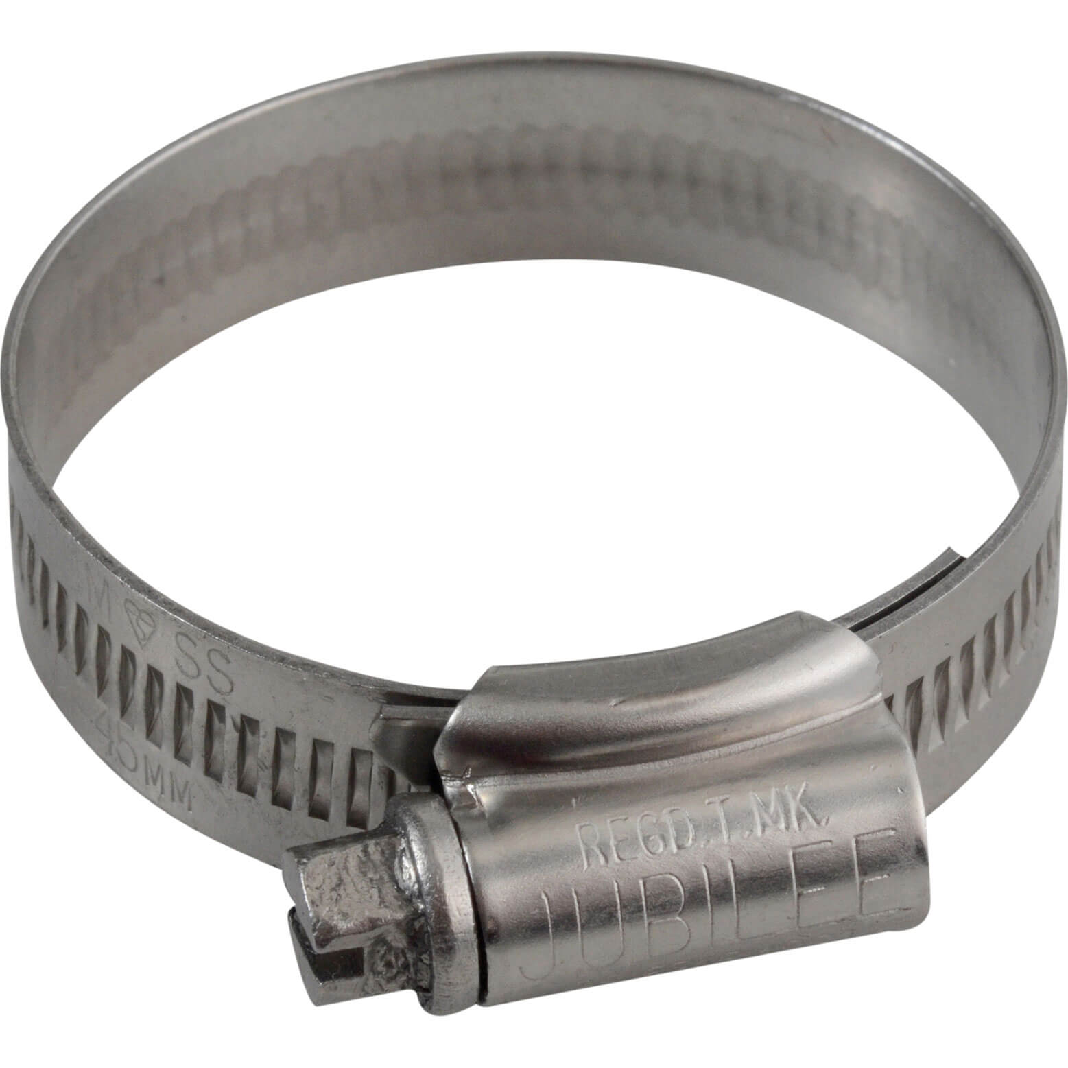 Image of Jubilee Stainless Steel Hose Clip 32mm - 45mm Pack of 1