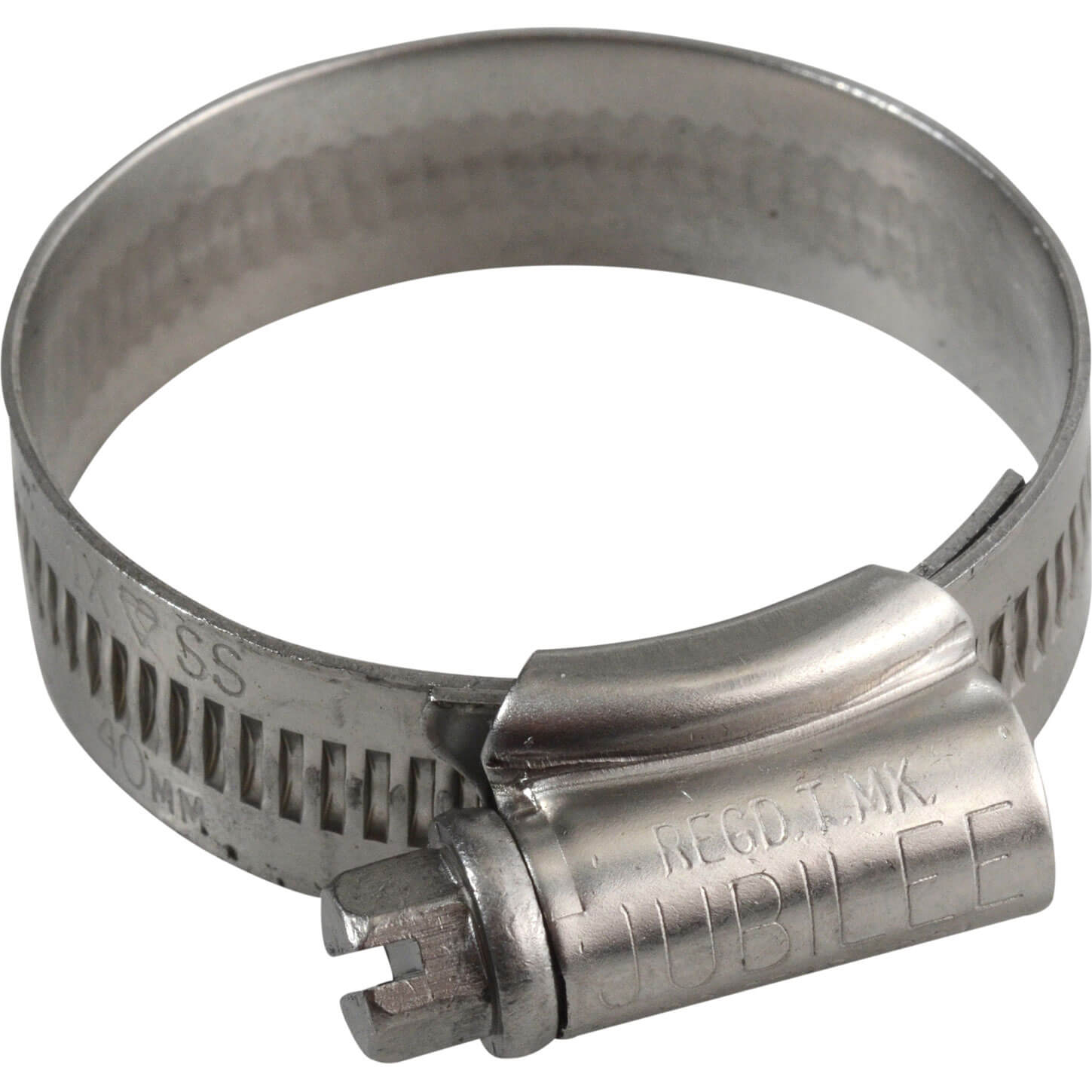 Image of Jubilee Stainless Steel Hose Clip 30mm - 40mm Pack of 1
