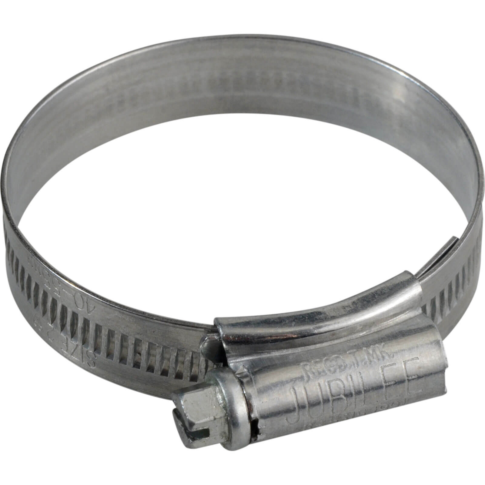 Image of Jubilee Zinc Plated Hose Clip 40mm - 55mm Pack of 1