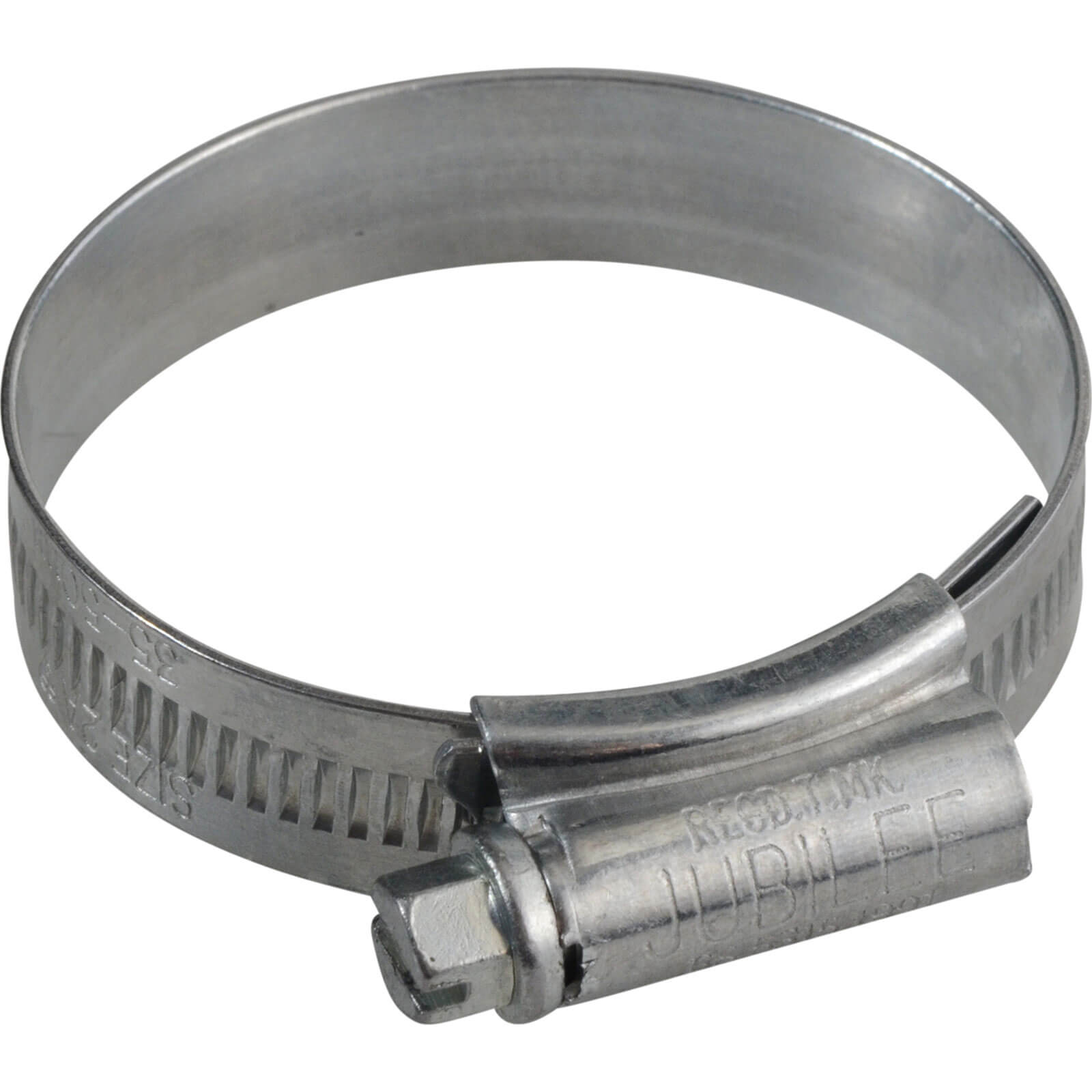 Image of Jubilee Zinc Plated Hose Clip 35mm - 50mm Pack of 1