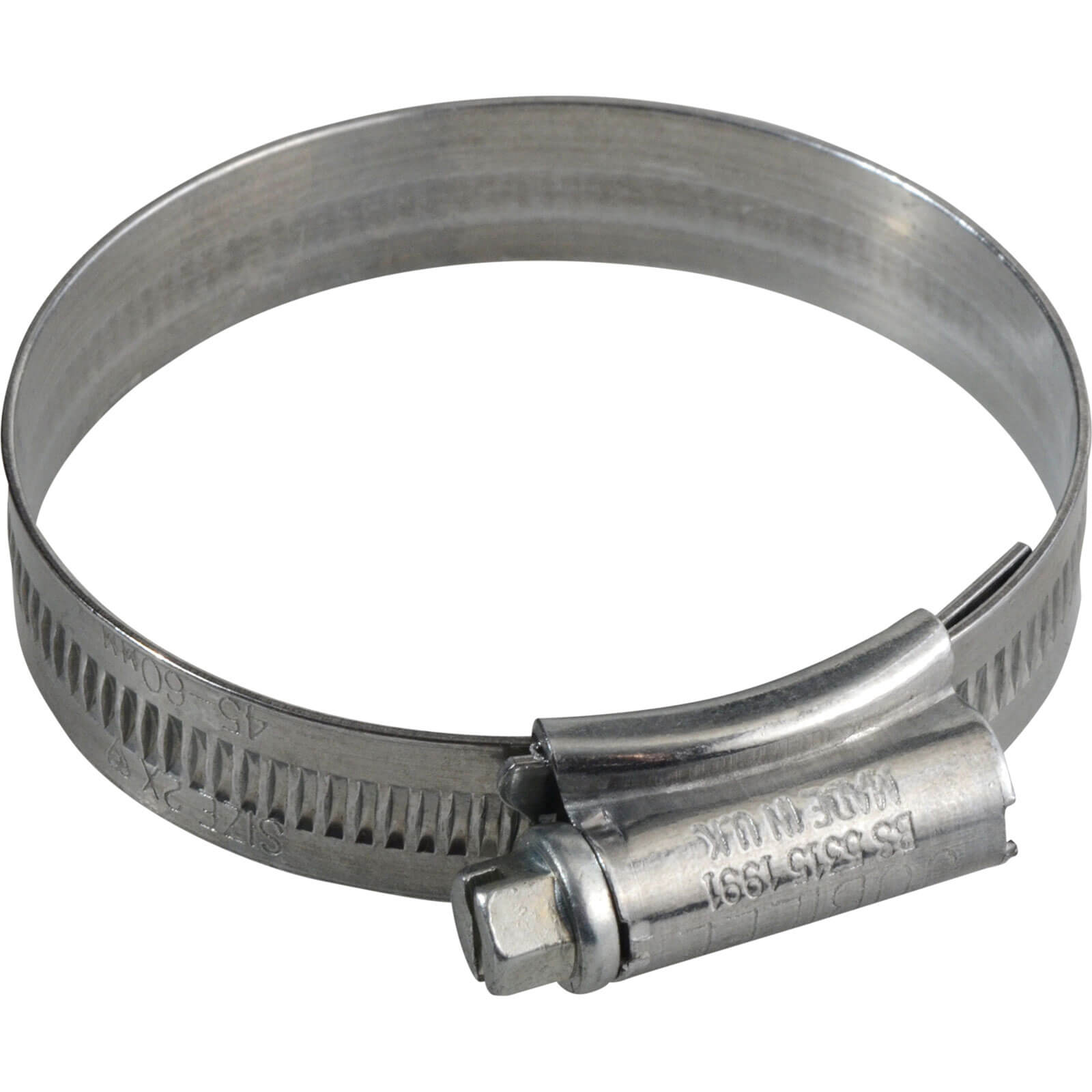 Image of Jubilee Zinc Plated Hose Clip 45mm - 60mm Pack of 1