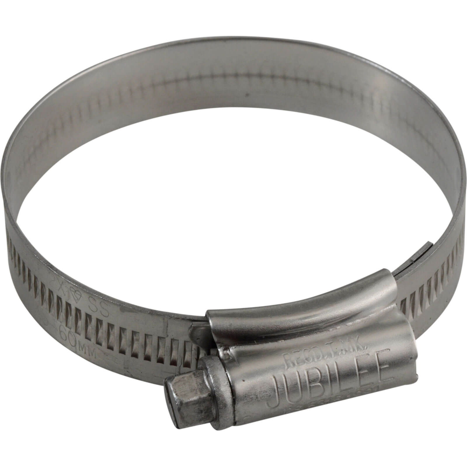 Image of Jubilee Stainless Steel Hose Clip 45mm - 60mm Pack of 1