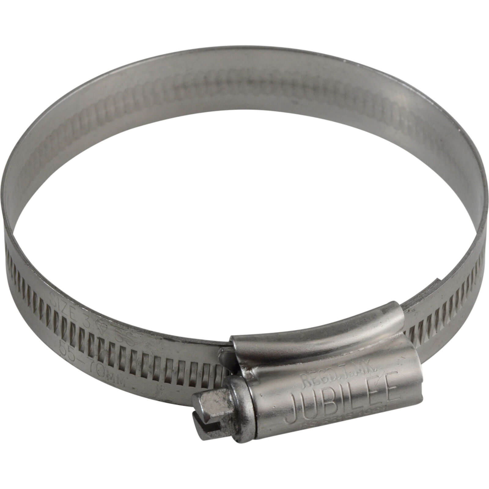 Image of Jubilee Stainless Steel Hose Clip 55mm - 70mm Pack of 1