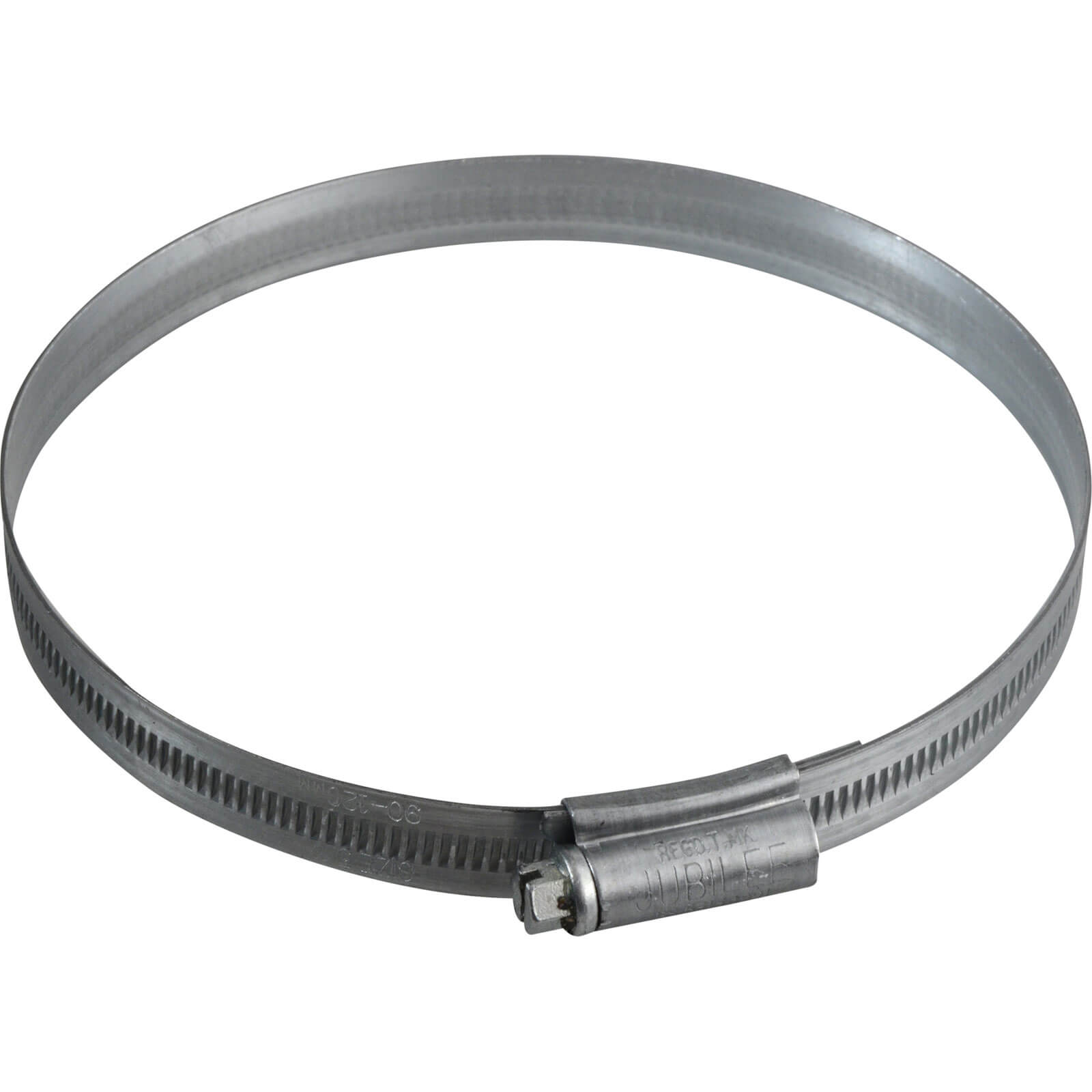 Image of Jubilee Zinc Plated Hose Clip 90mm - 120mm Pack of 1