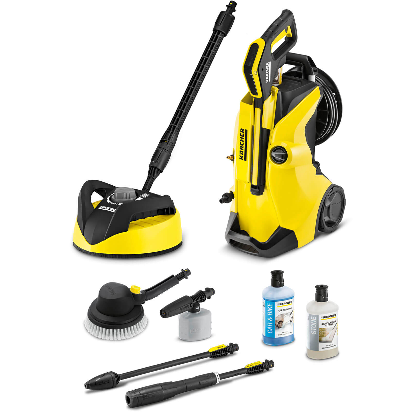 zzz karcher k4 premium full control car home pressure washer 130 bar. Black Bedroom Furniture Sets. Home Design Ideas