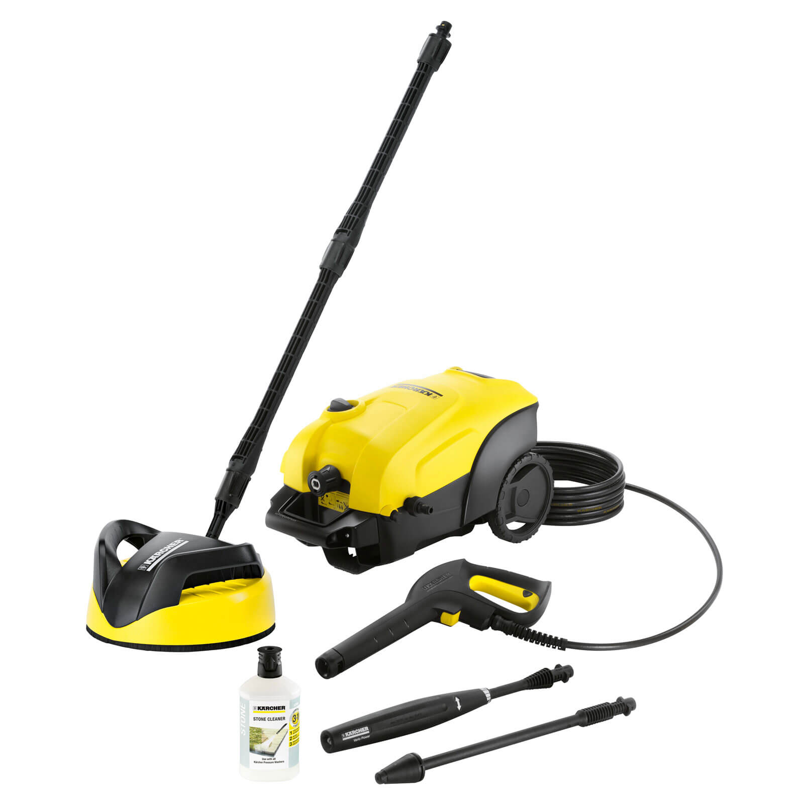Karcher K4 Compact Home Pressure Washer 130 Bar 240v