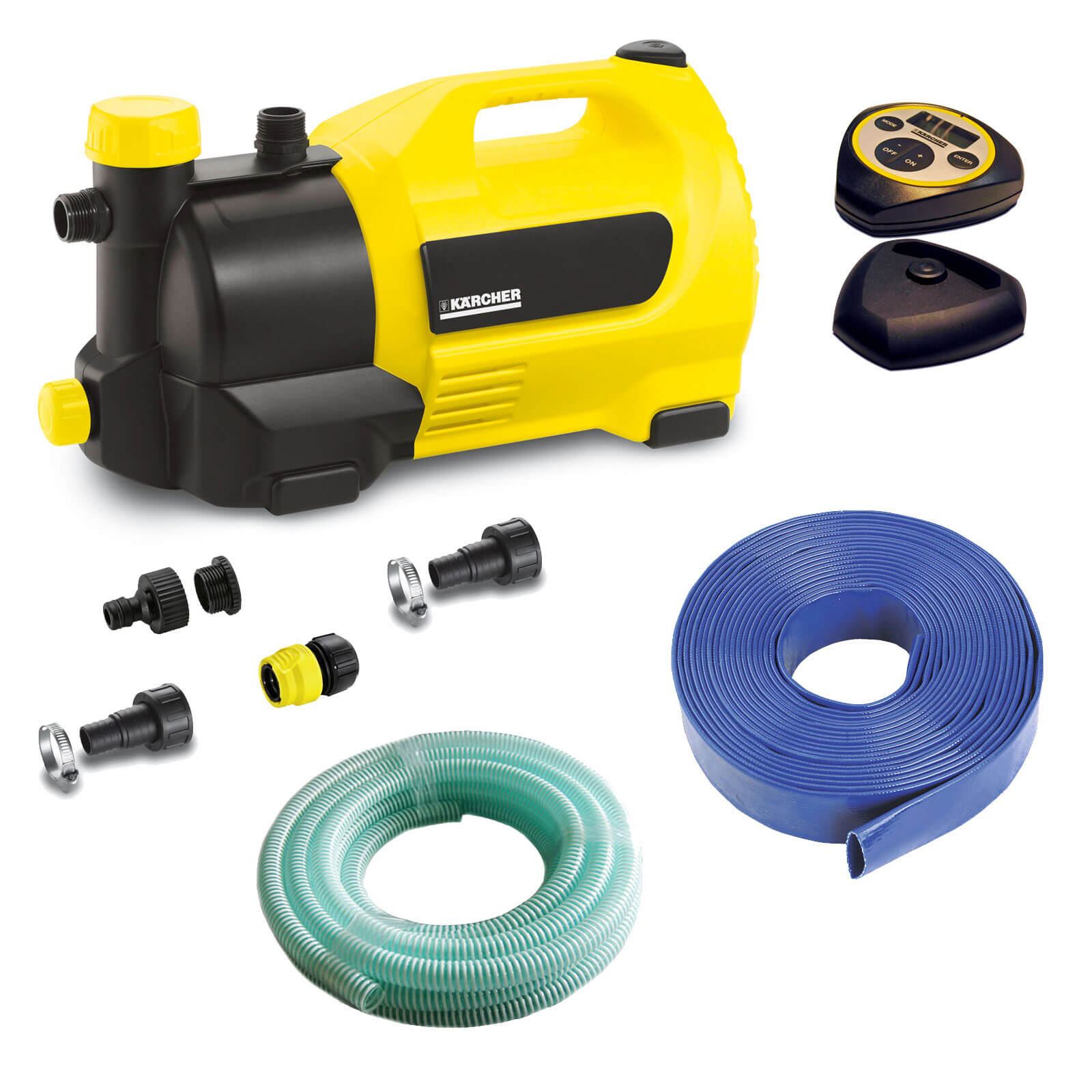 Karcher GP 50 MC Surface Water Pump with 10m Drainage Kit 240v