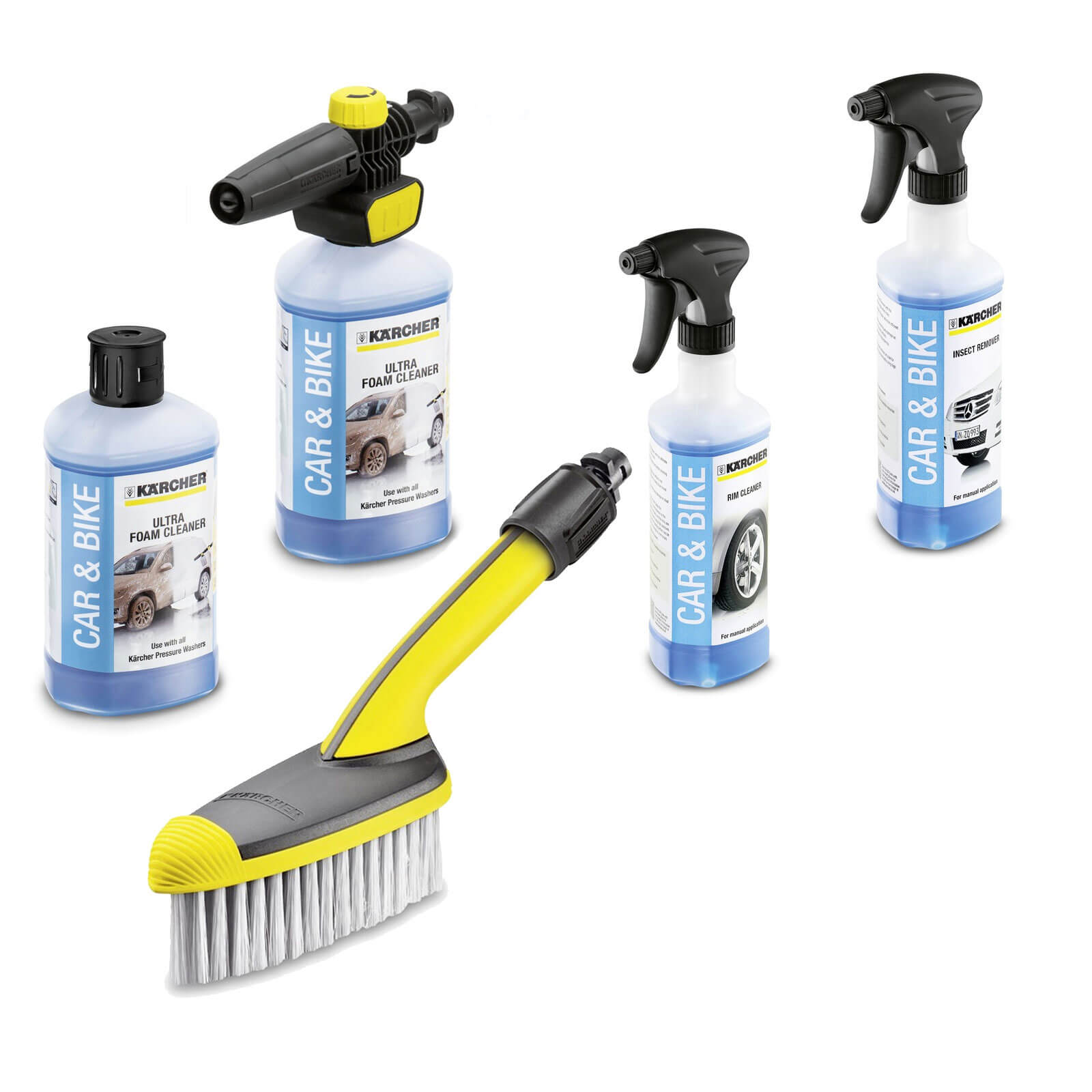 Karcher Car Bike & Motorcycle Cleaning Kit for K Series Pressure Washers