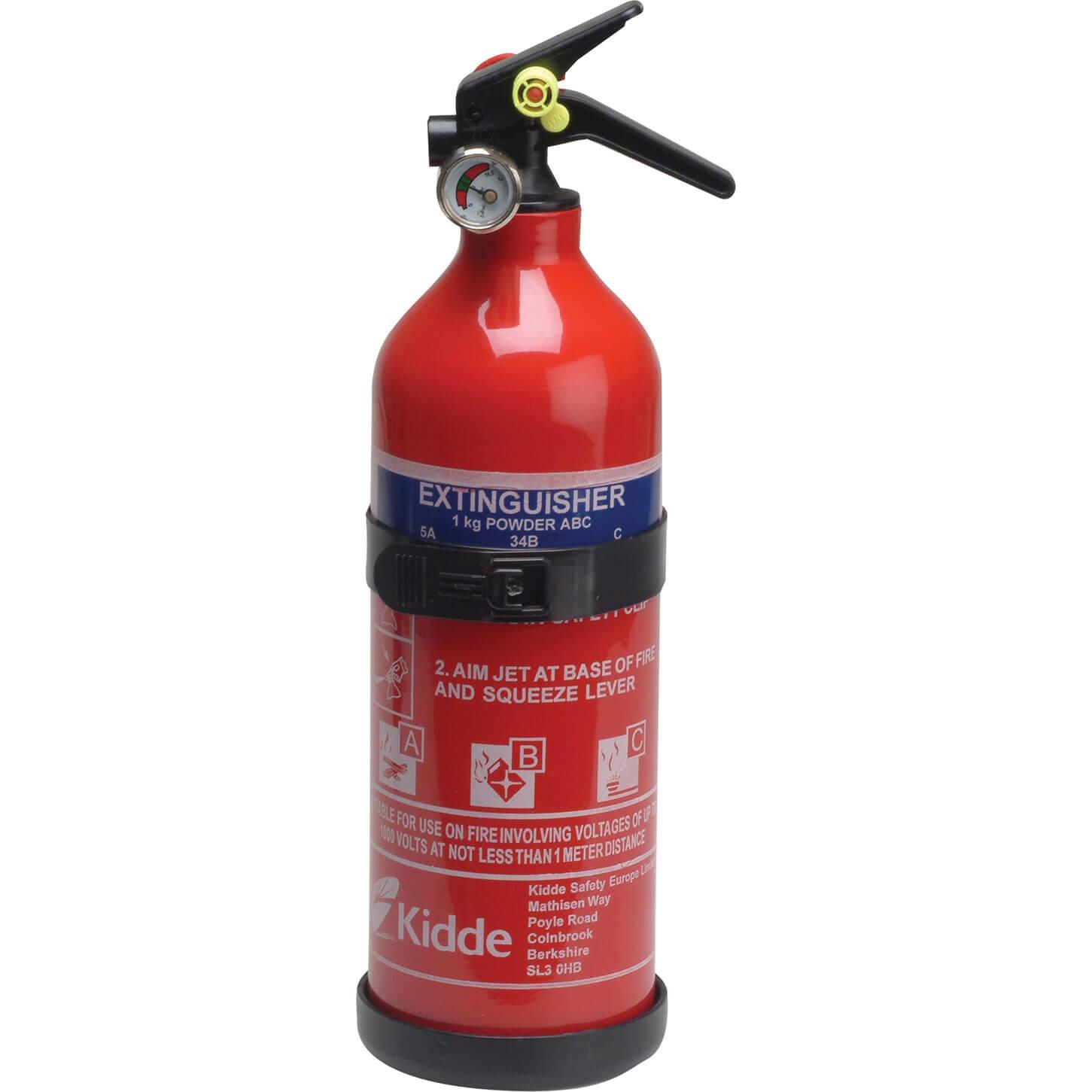 Kidde Multi Purpose ABC Fire Extinguisher